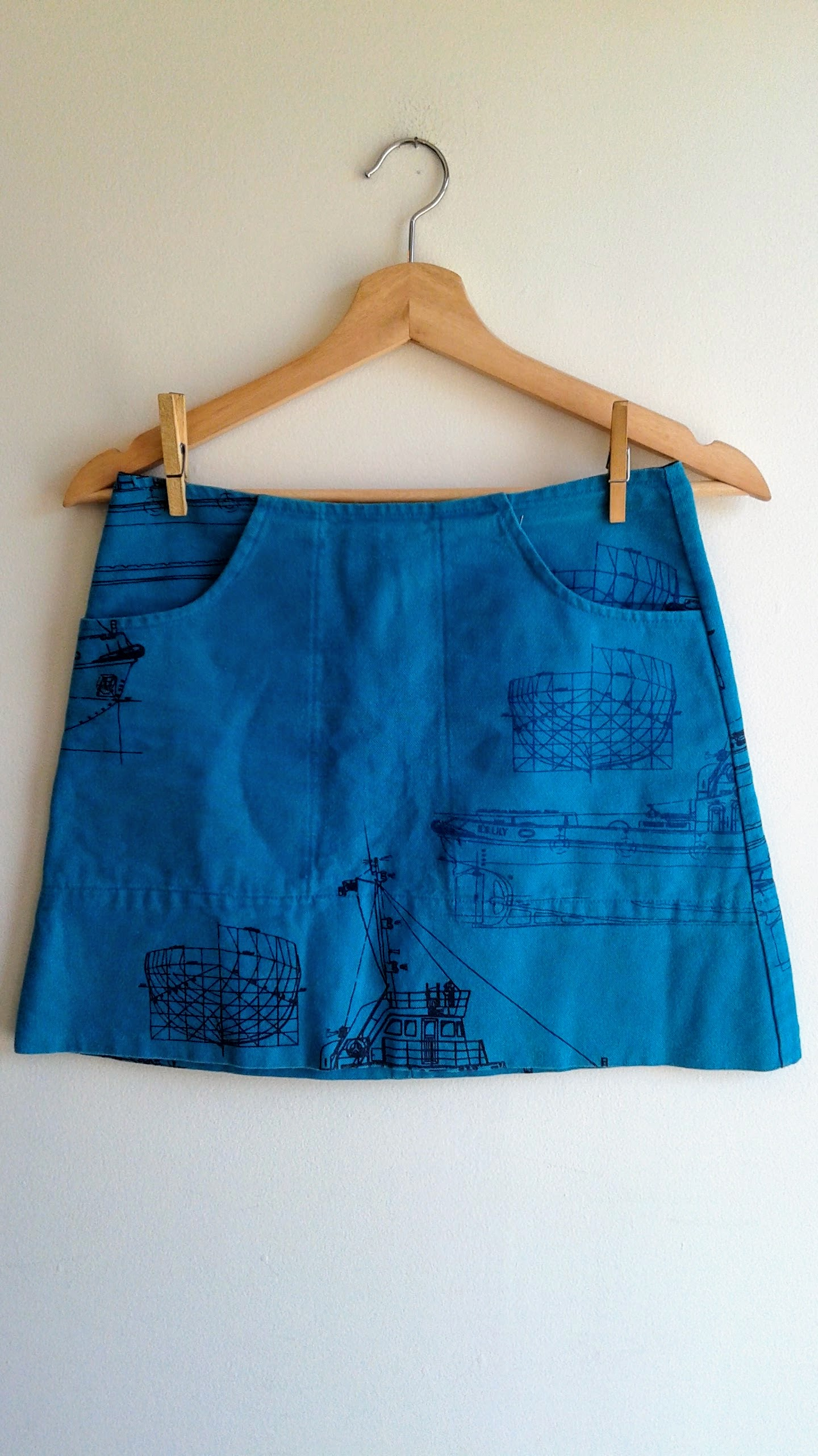 Smoking Lily skirt; Size S, $22