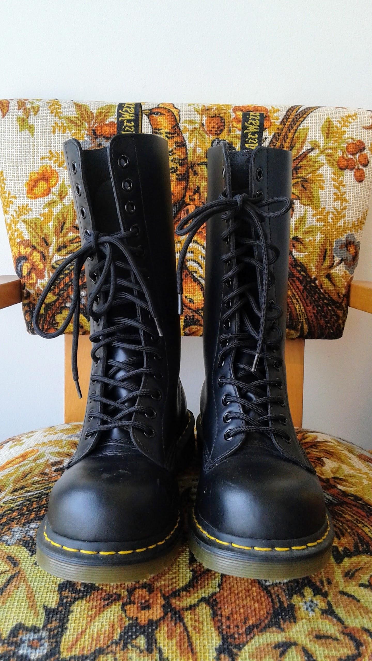 Doc Martens boots; S7, $145