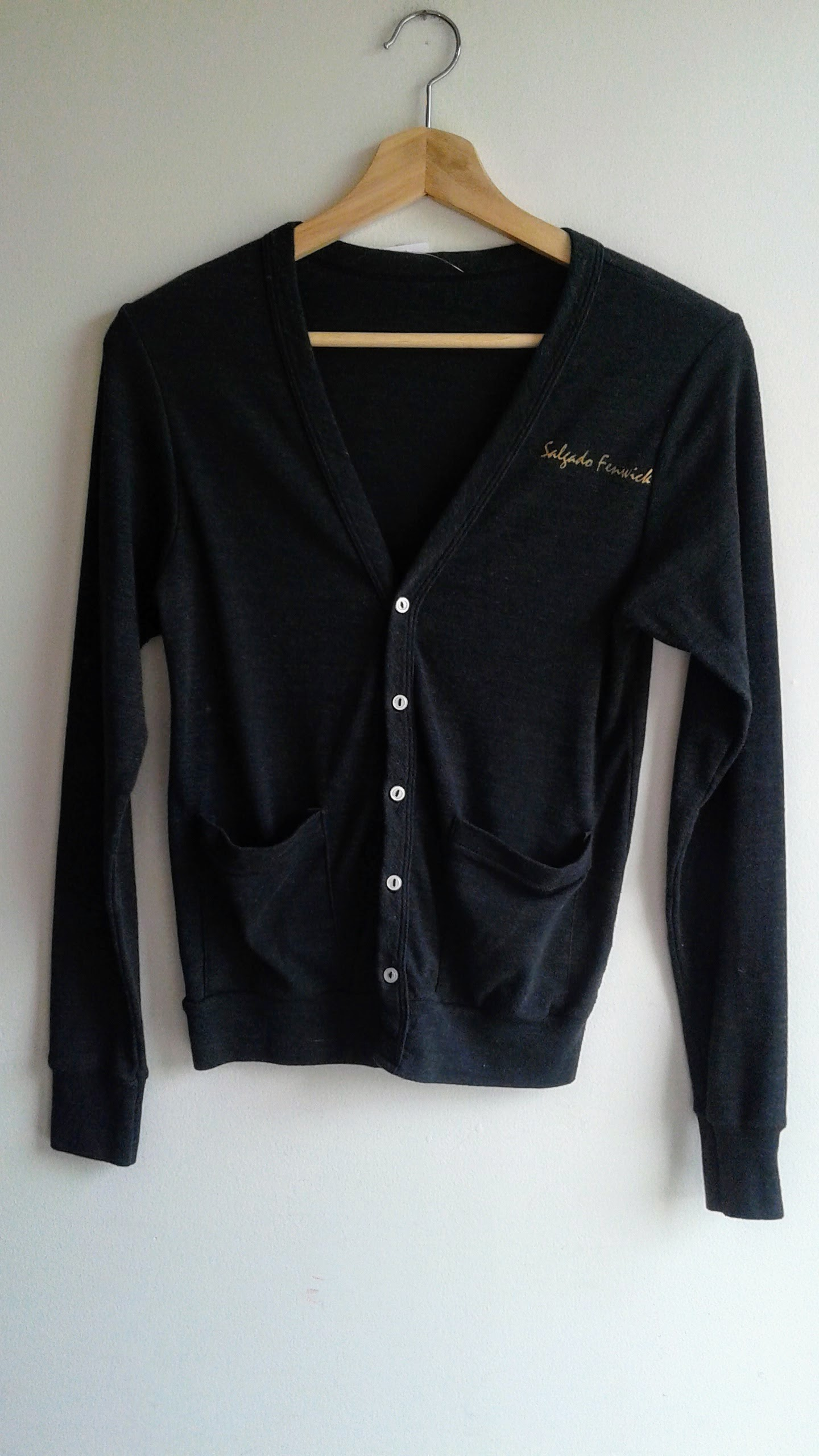 Salgado Fenwick cardigan; Size S, $30