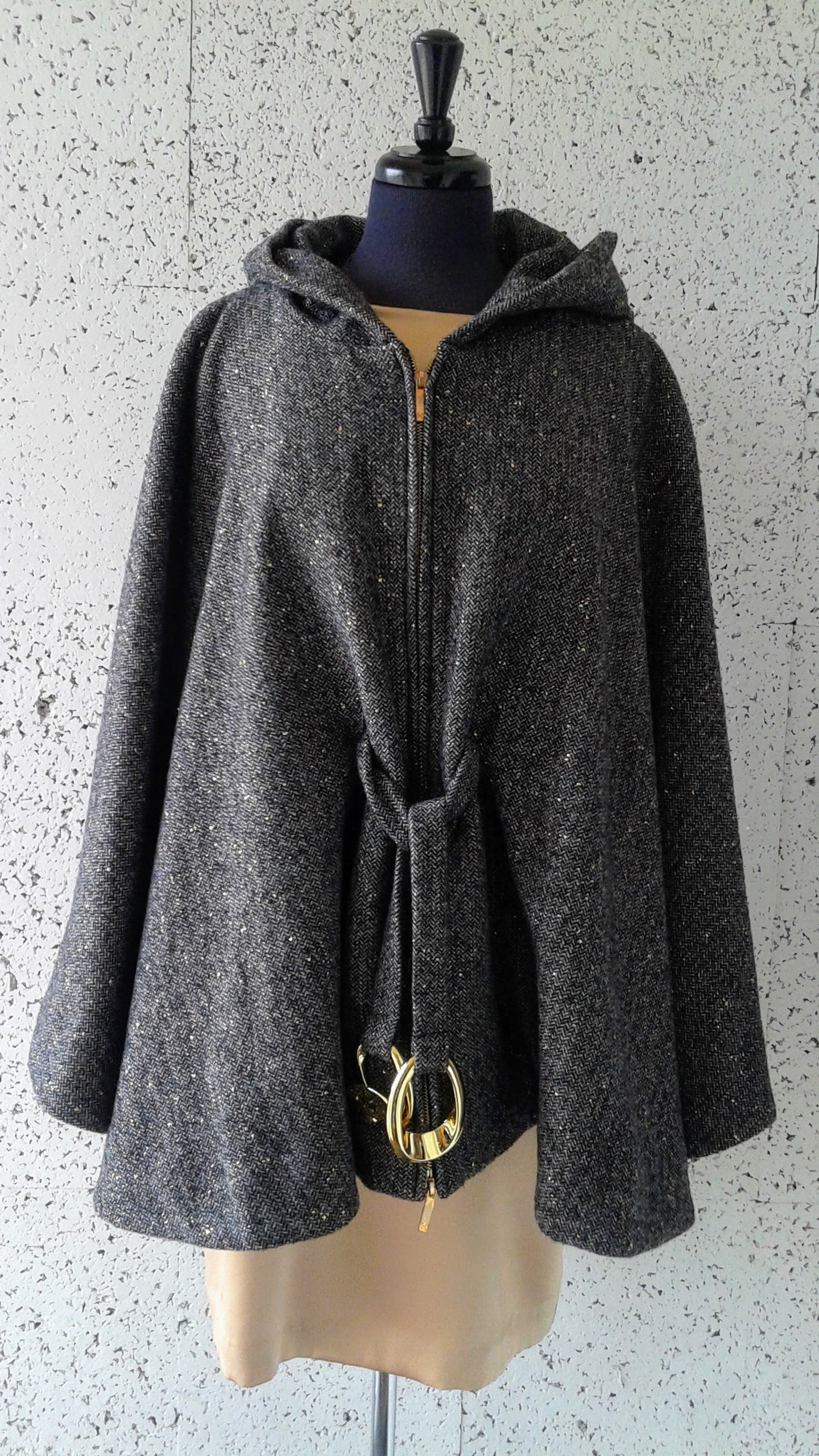 Halston Heritage  cape; Size 8, $175