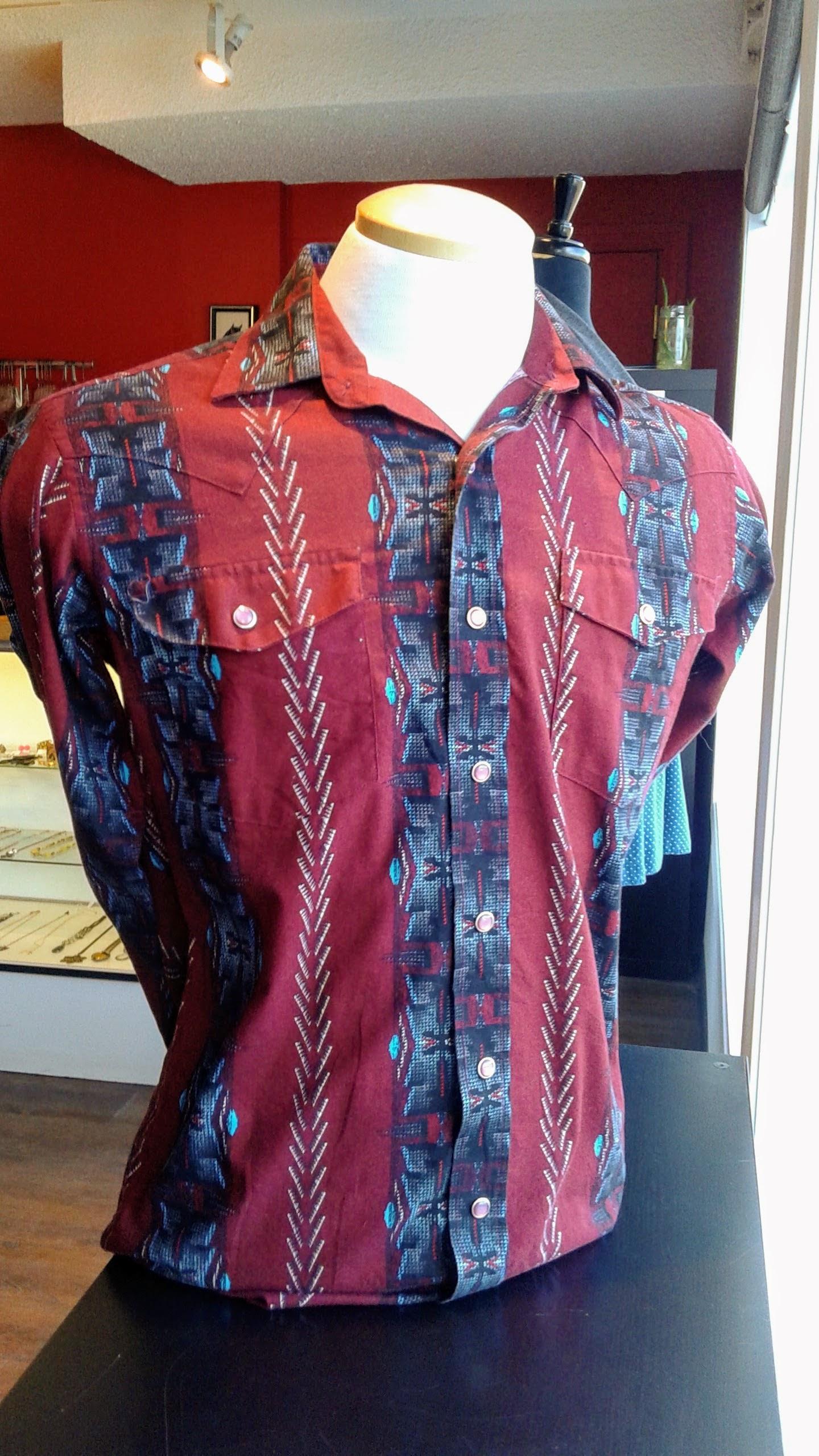Panhandle shirt; Size M, $22