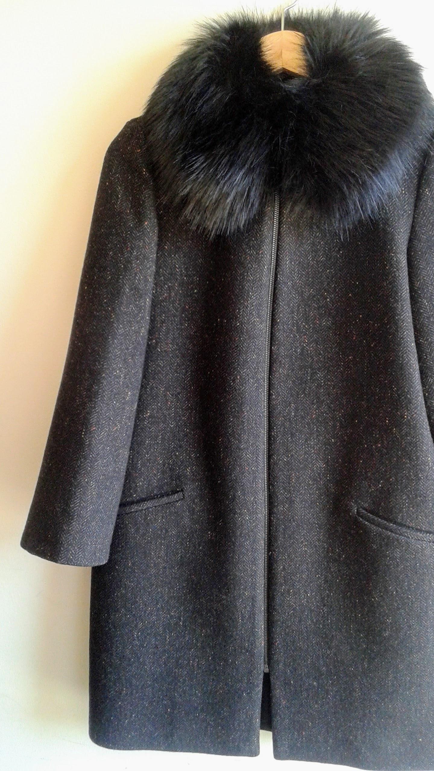 Zara coat; Size S, $62