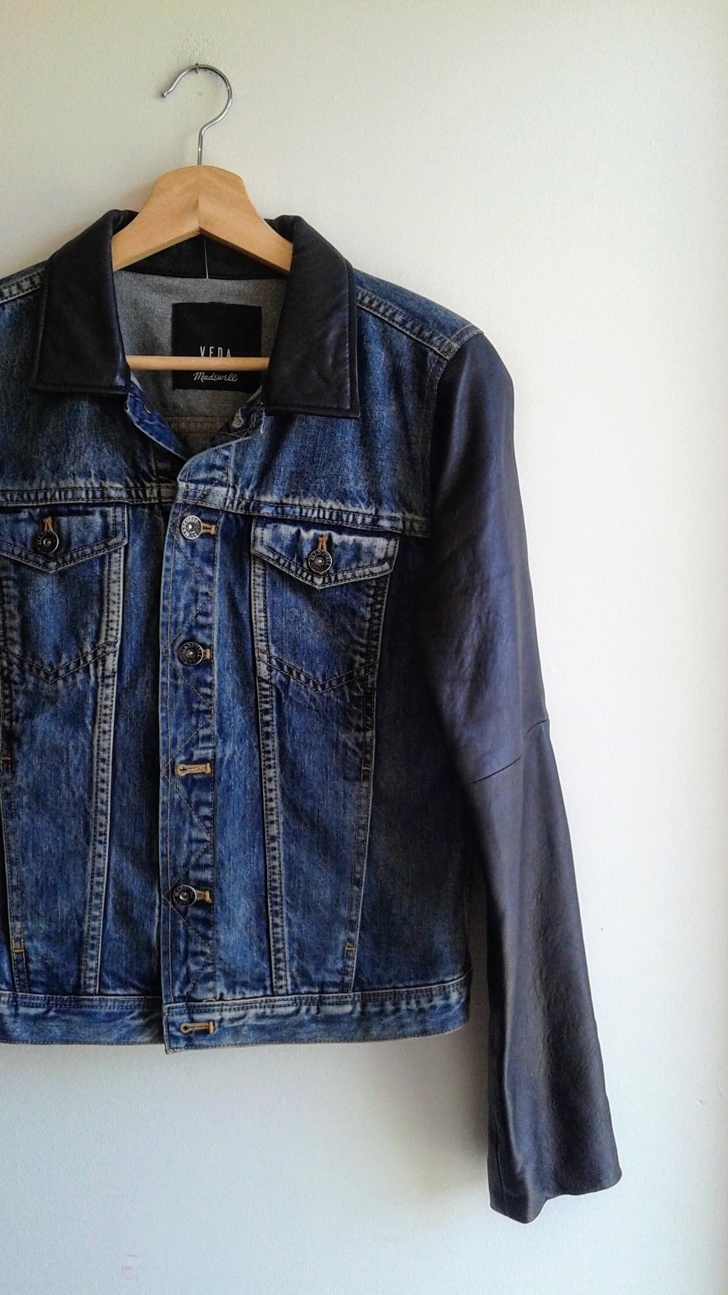 Madewell jacket; Size S, $42