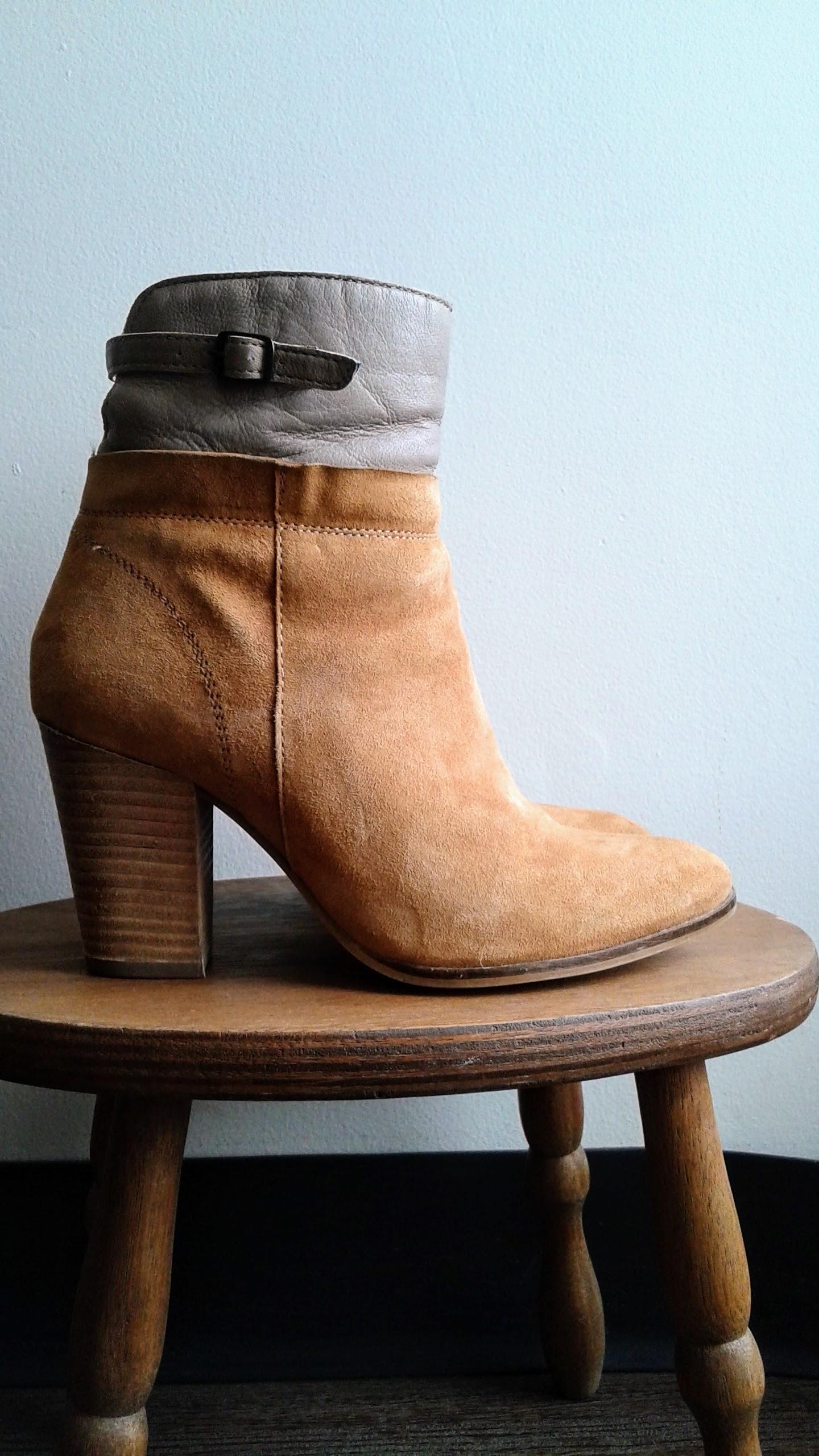 Seychelles boots; S8, $58