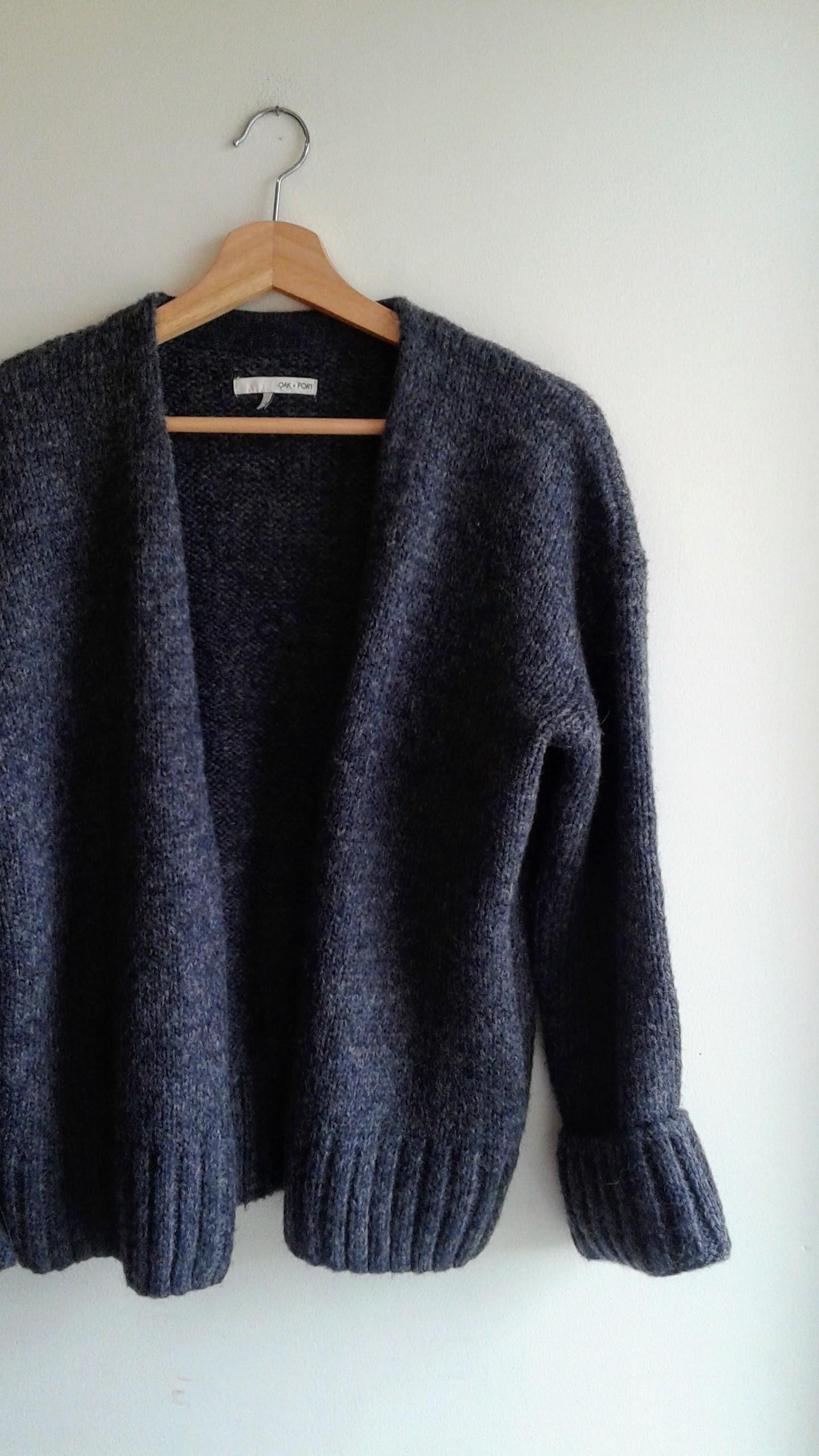 Oak+Fort sweater; Size XS, $56