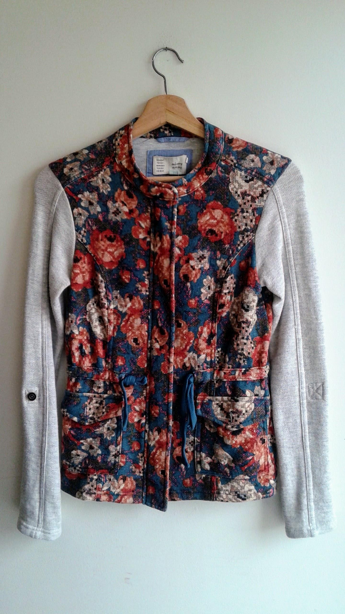 Saturday Sunday jacket; Size XS, $30