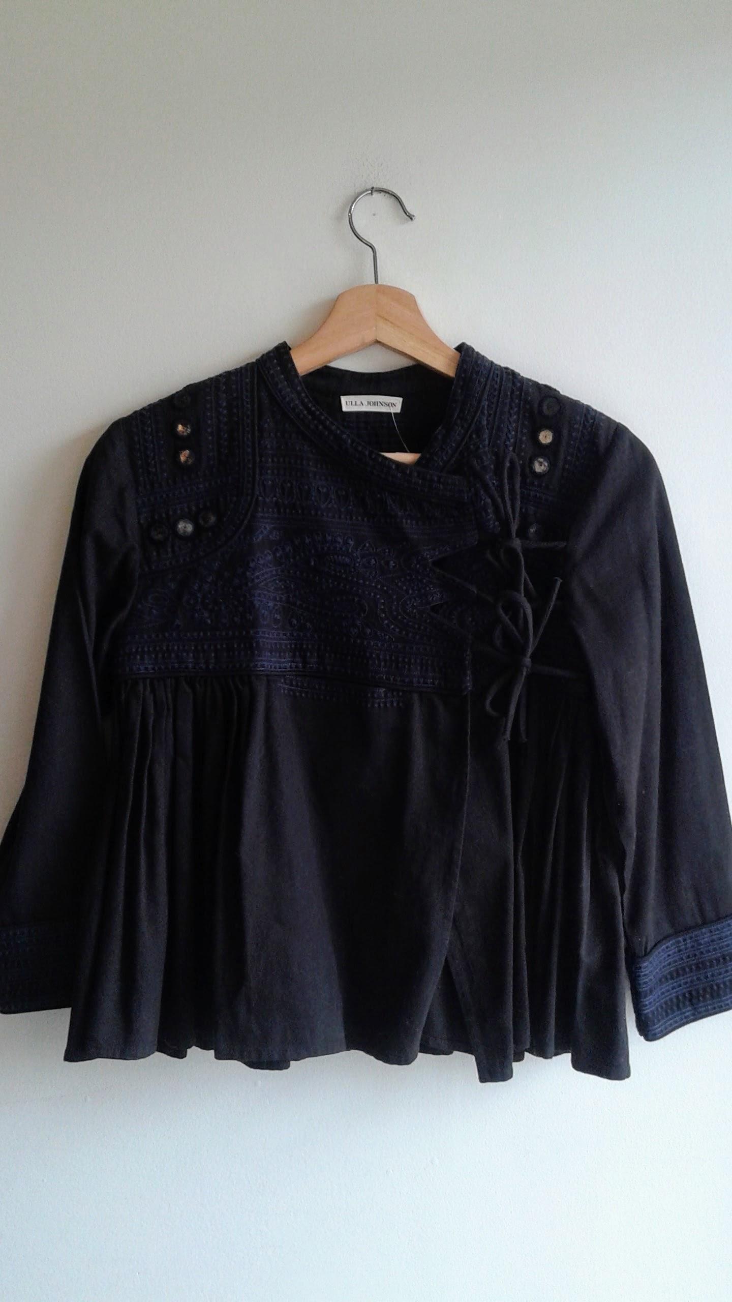 Ulla Johnson jacket; Size S, $82