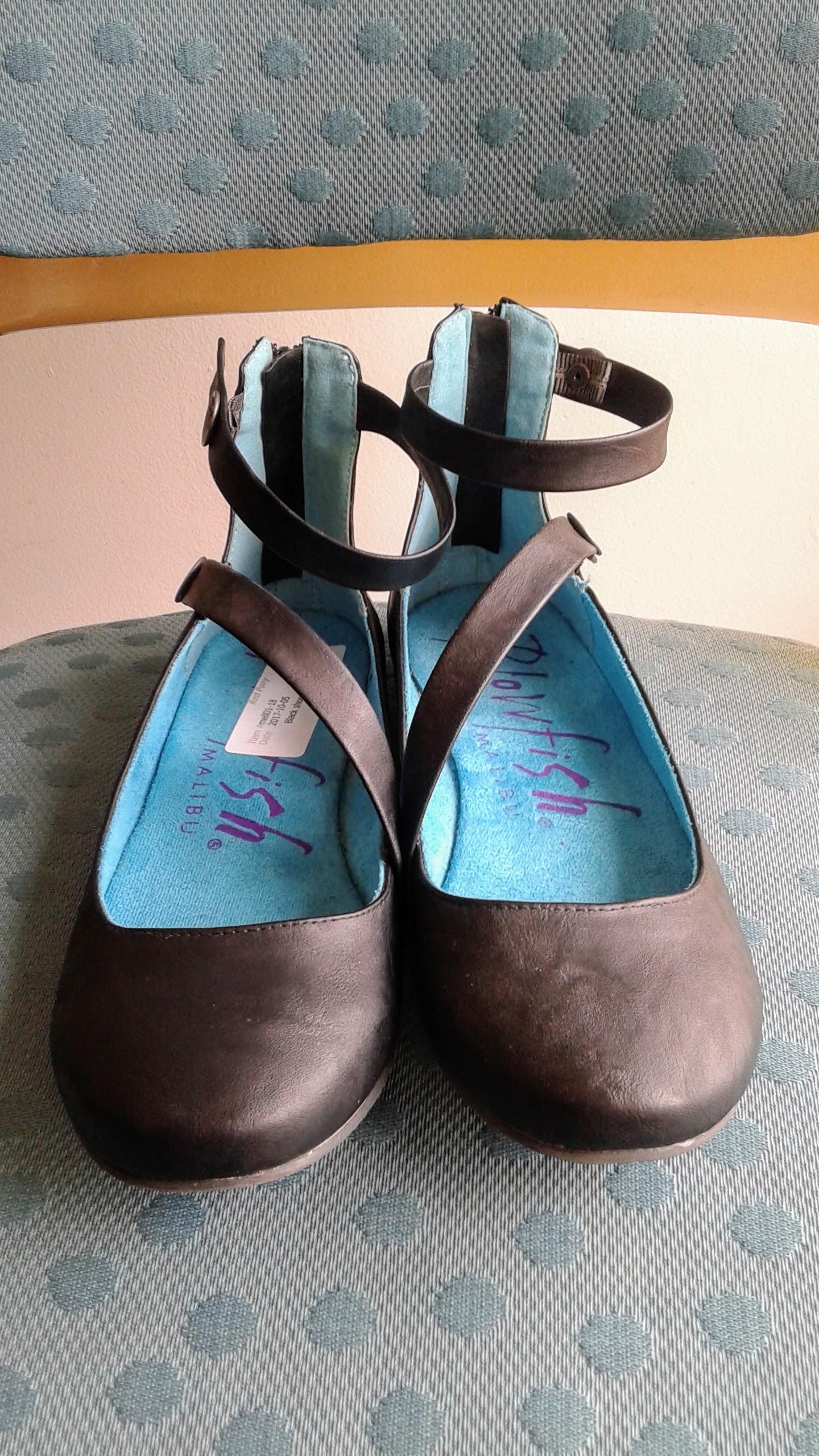 Blowfish shoes; S8, $26