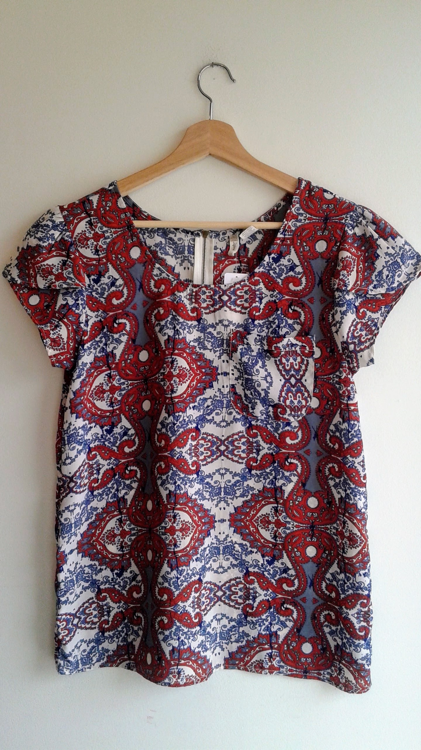 Japna top; Size M, $24