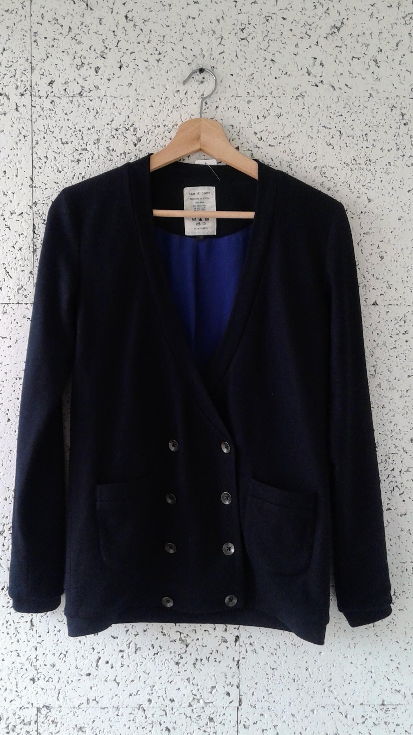 Rag & Bone blazer; Size S, $46