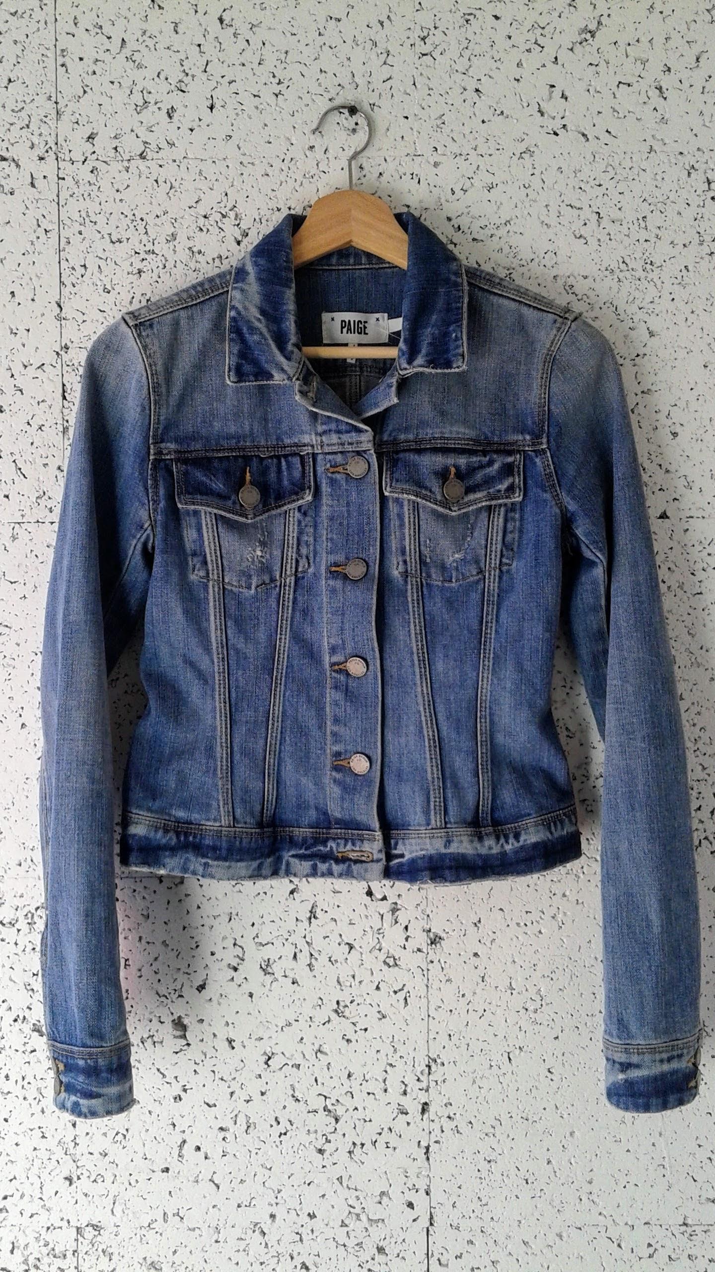 Paige jacket; Size S, $40