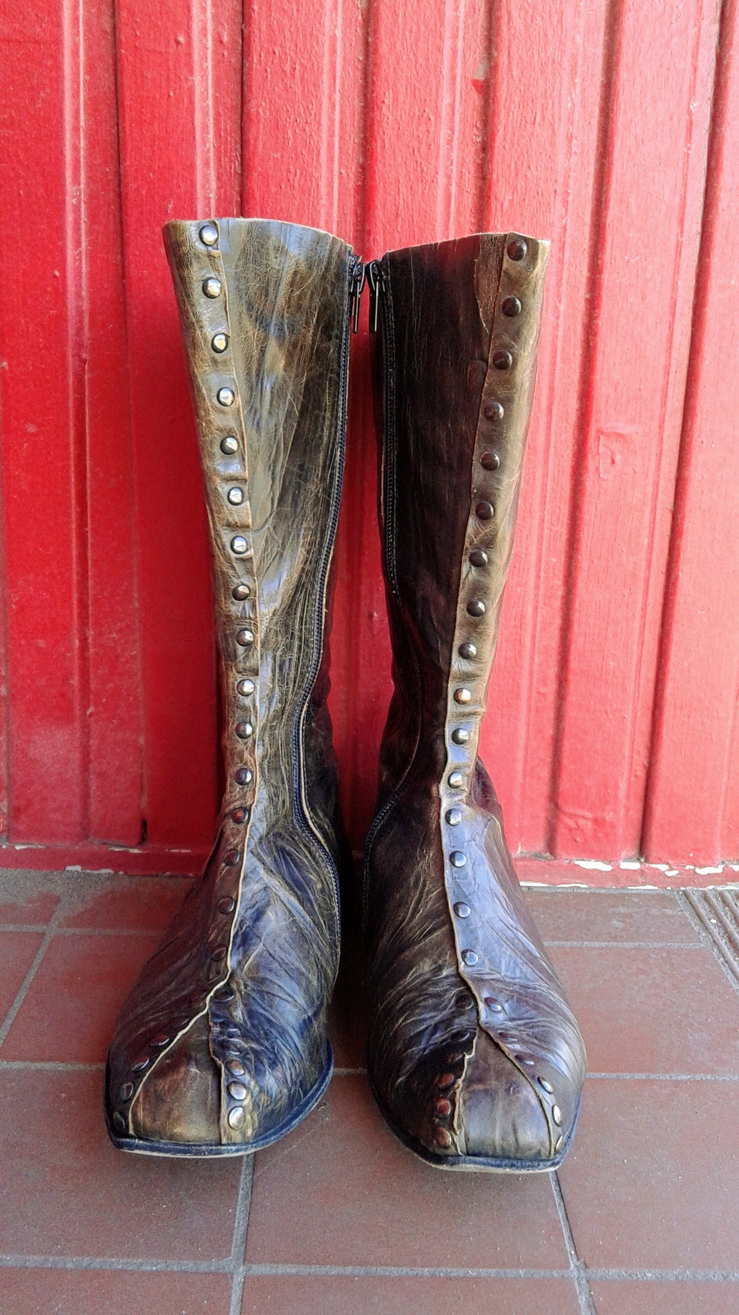 Cydwoq boots; Size 6.5, $225