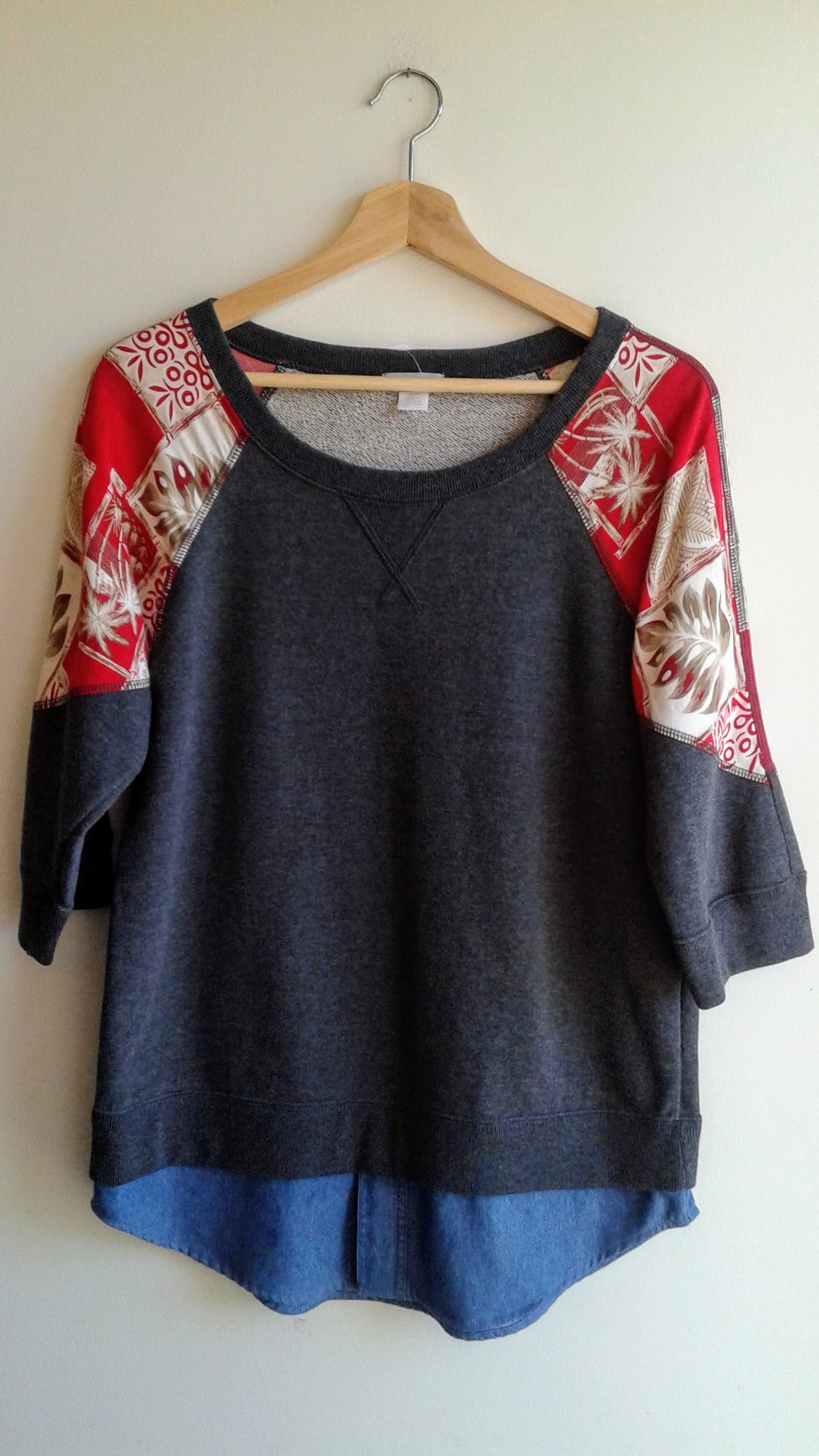 Preloved top; Size M, $32