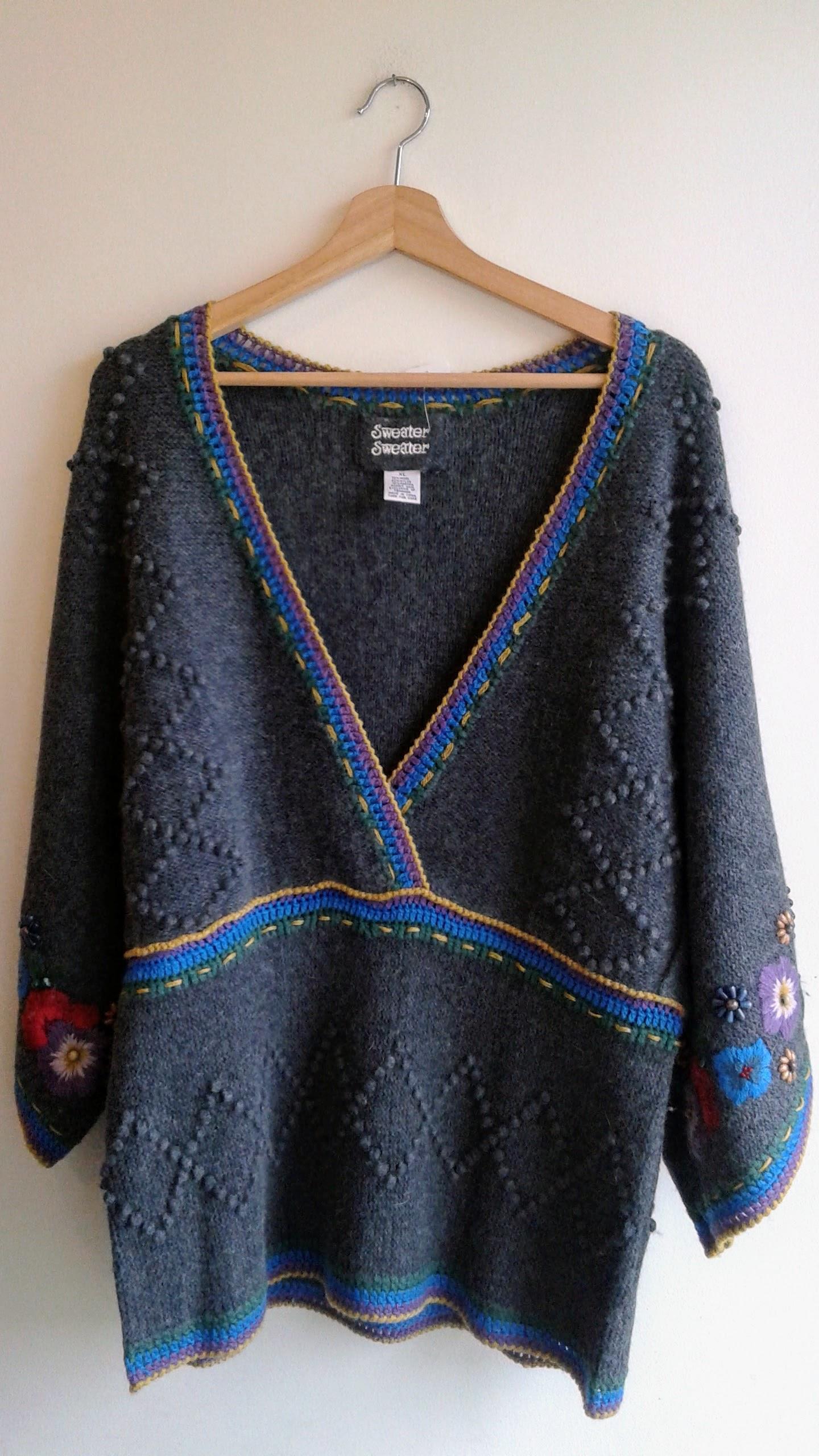 Sweater Sweater sweater; Size XL, $38