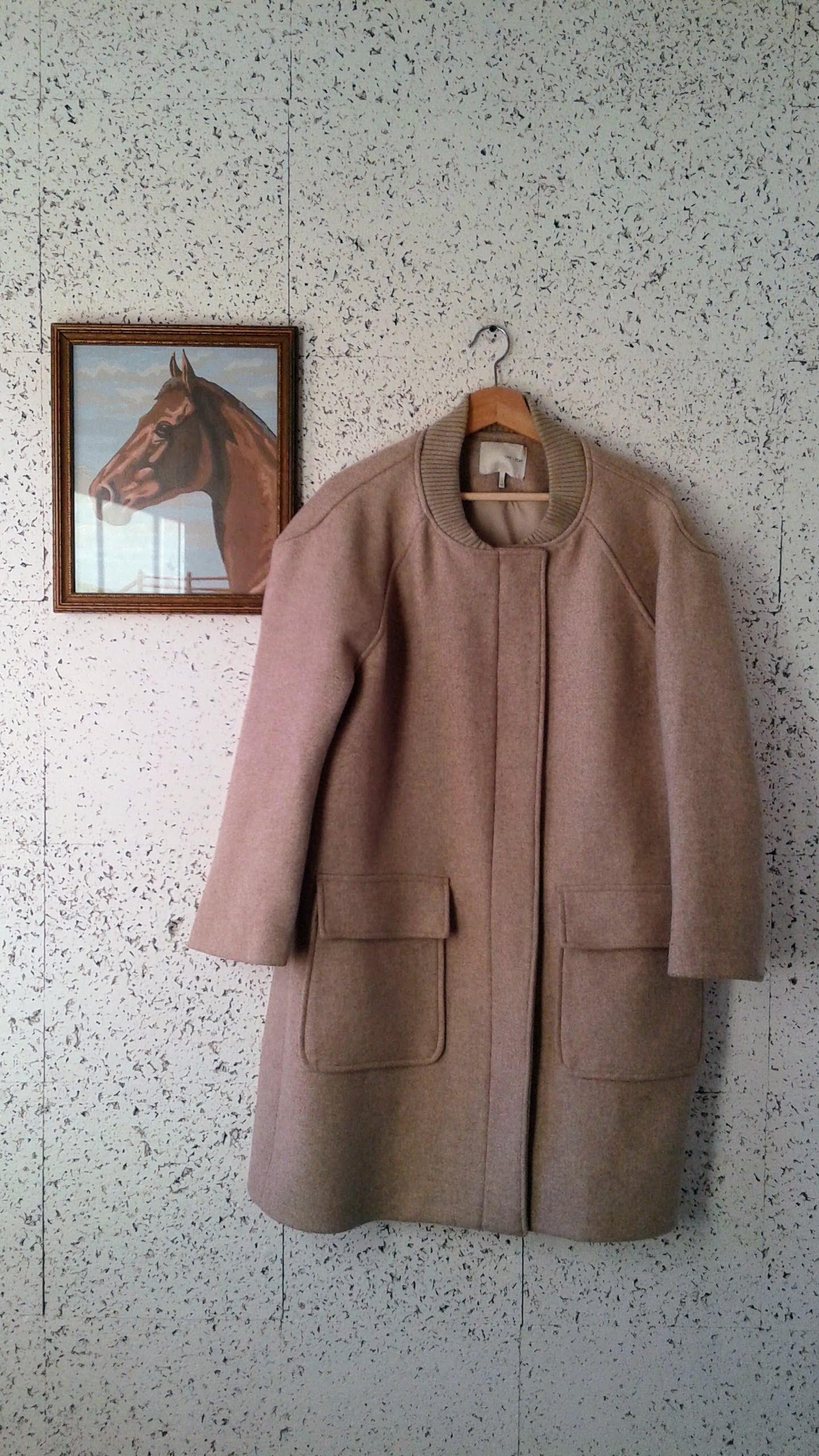Oak+Fort coat; Size S, $145