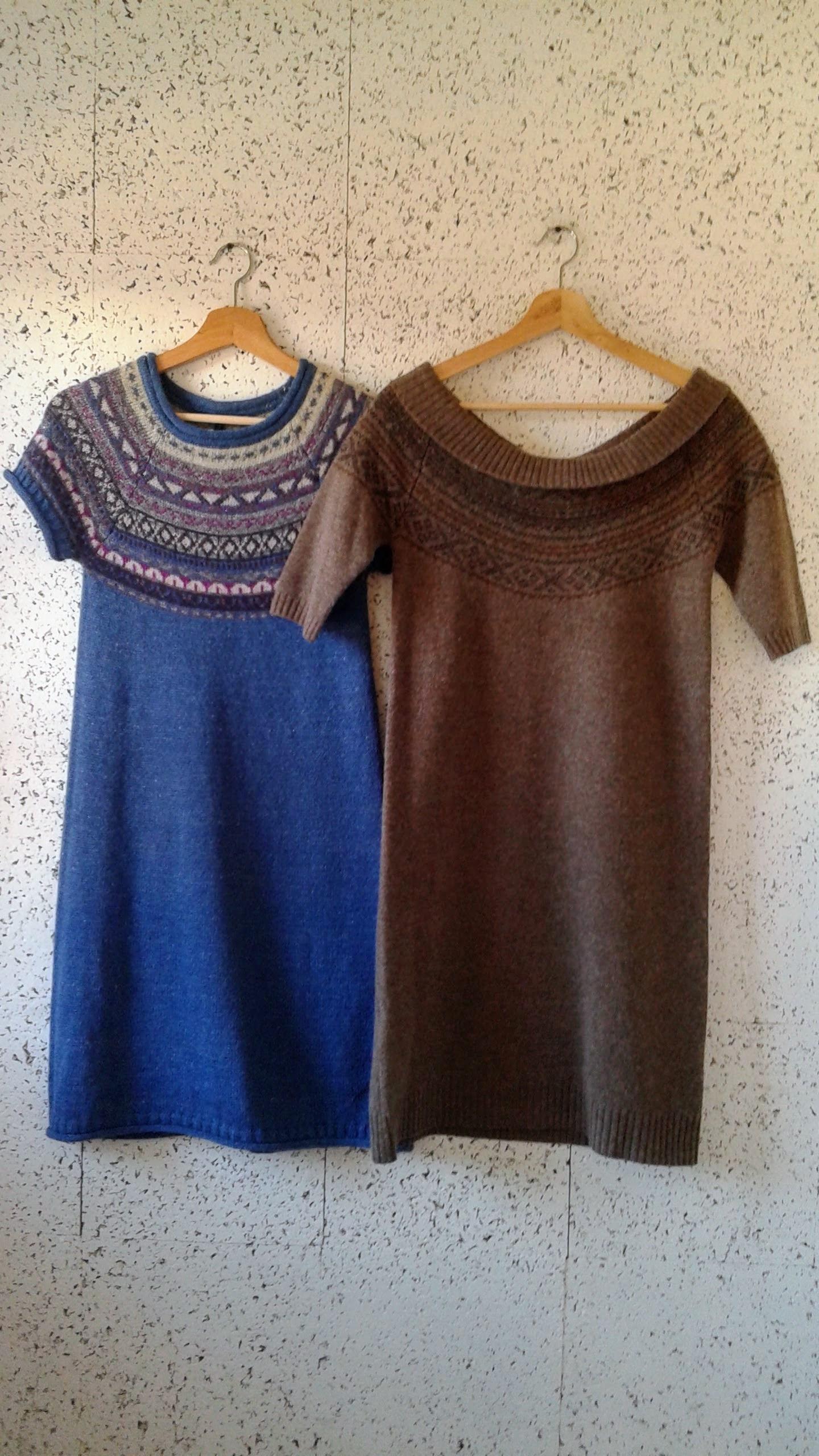 Benneton  dress; Size S, $36.  Comptoir des Cotonniers  dress (NWT); Size M, $48