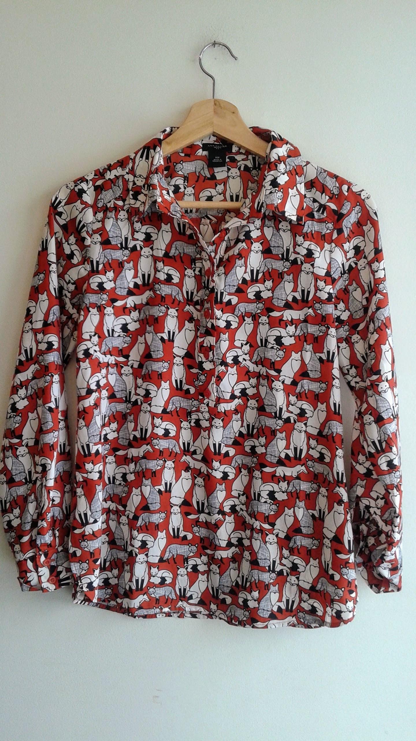 Ann Taylor  top; Size XS, $26