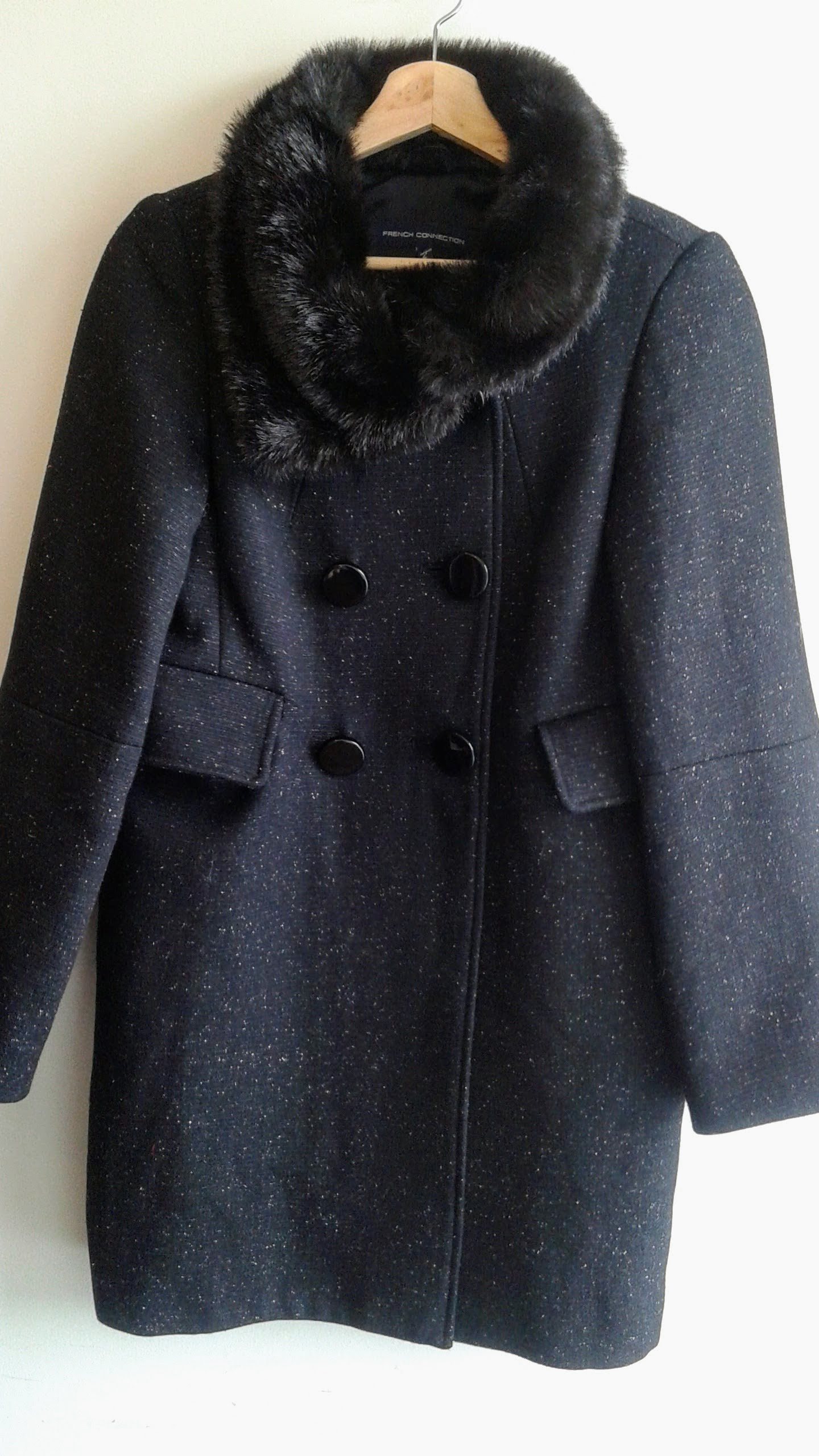 French Connection coat; Size 4, $68