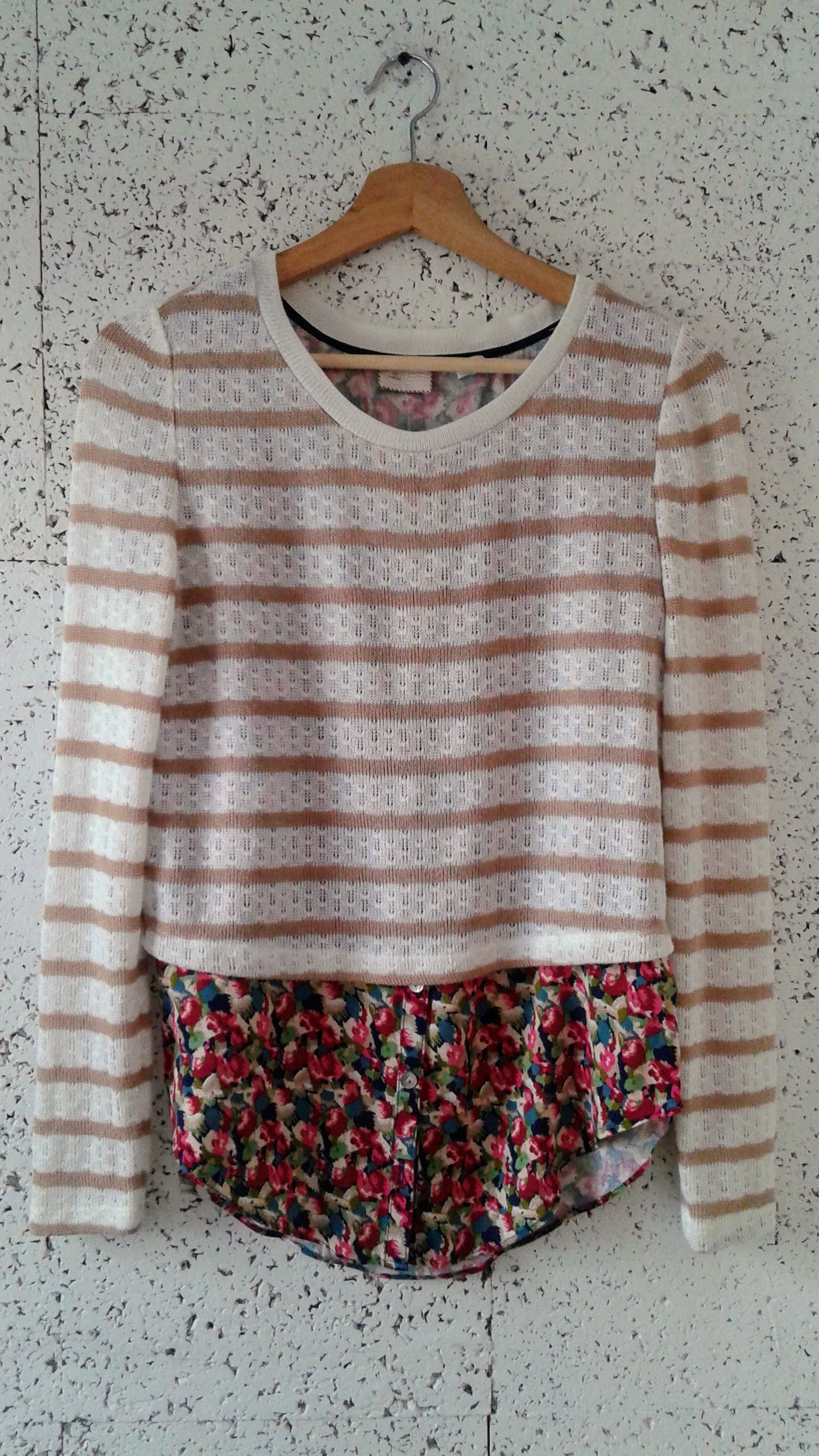 9-H15 STCL top; Size S, $28