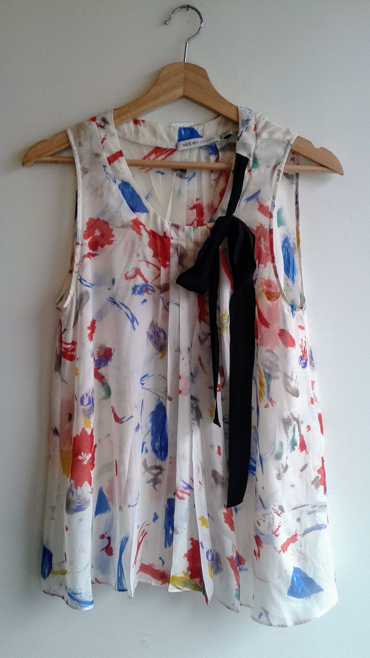 See by Chloe top; Size M, $36