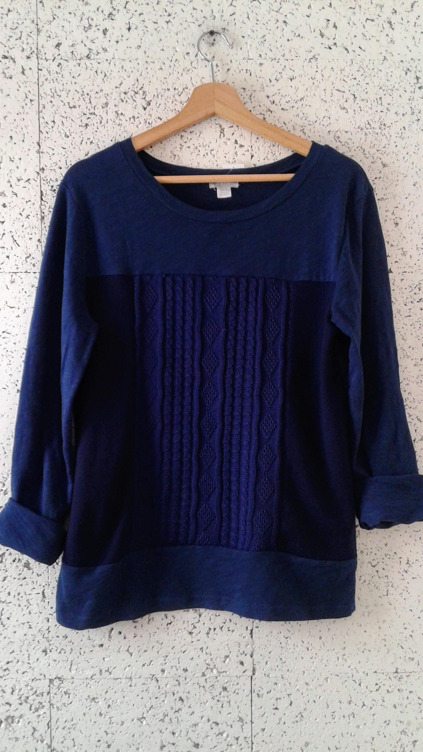 Preloved top; Size M, $34