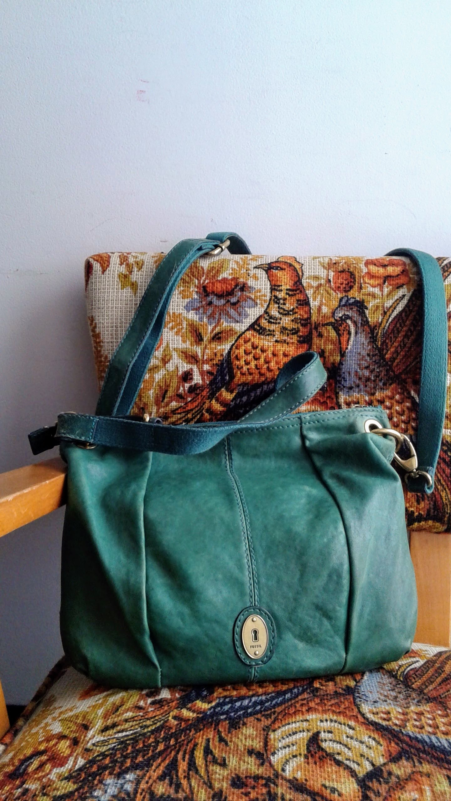 Fossil bag, $48