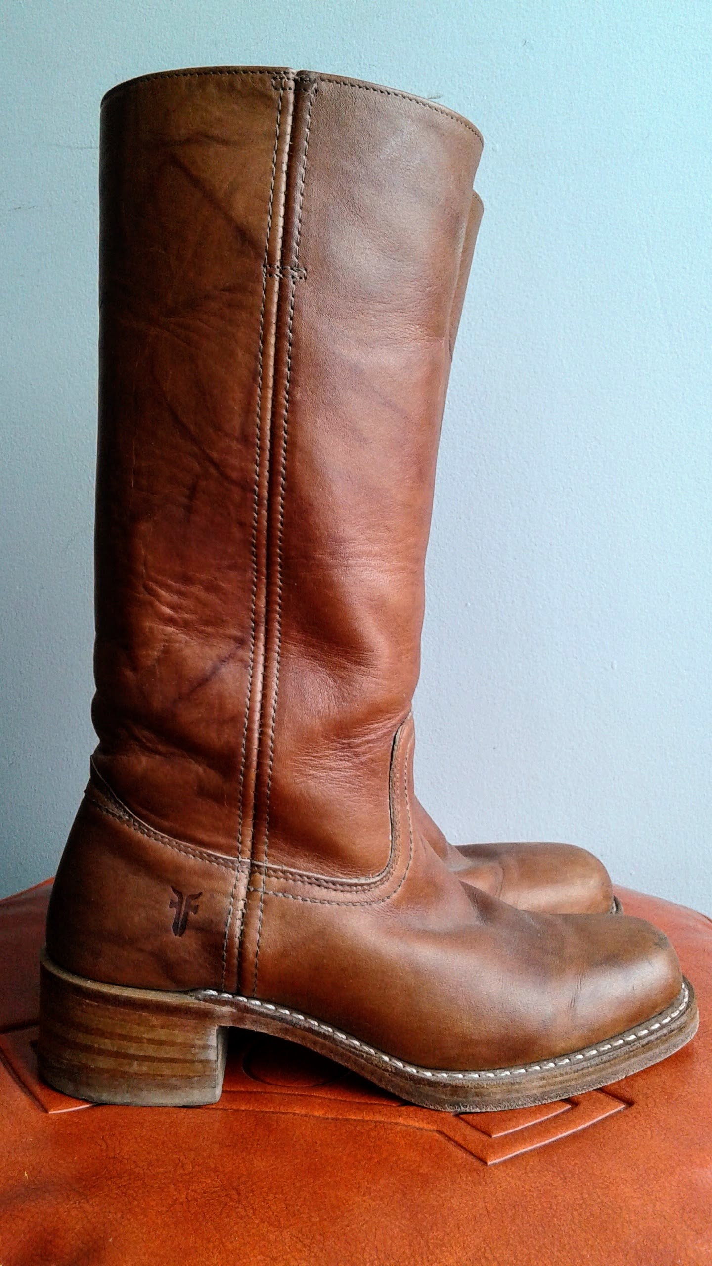 Frye boots; S7.5, $95