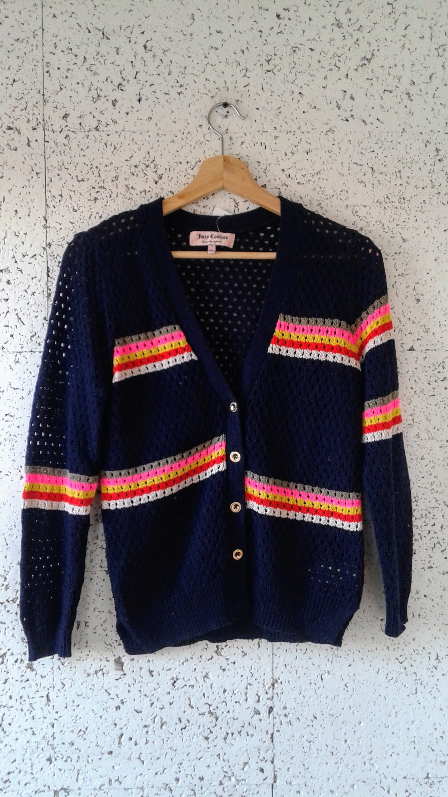 Juicy Couture cardigan; Size S, $30