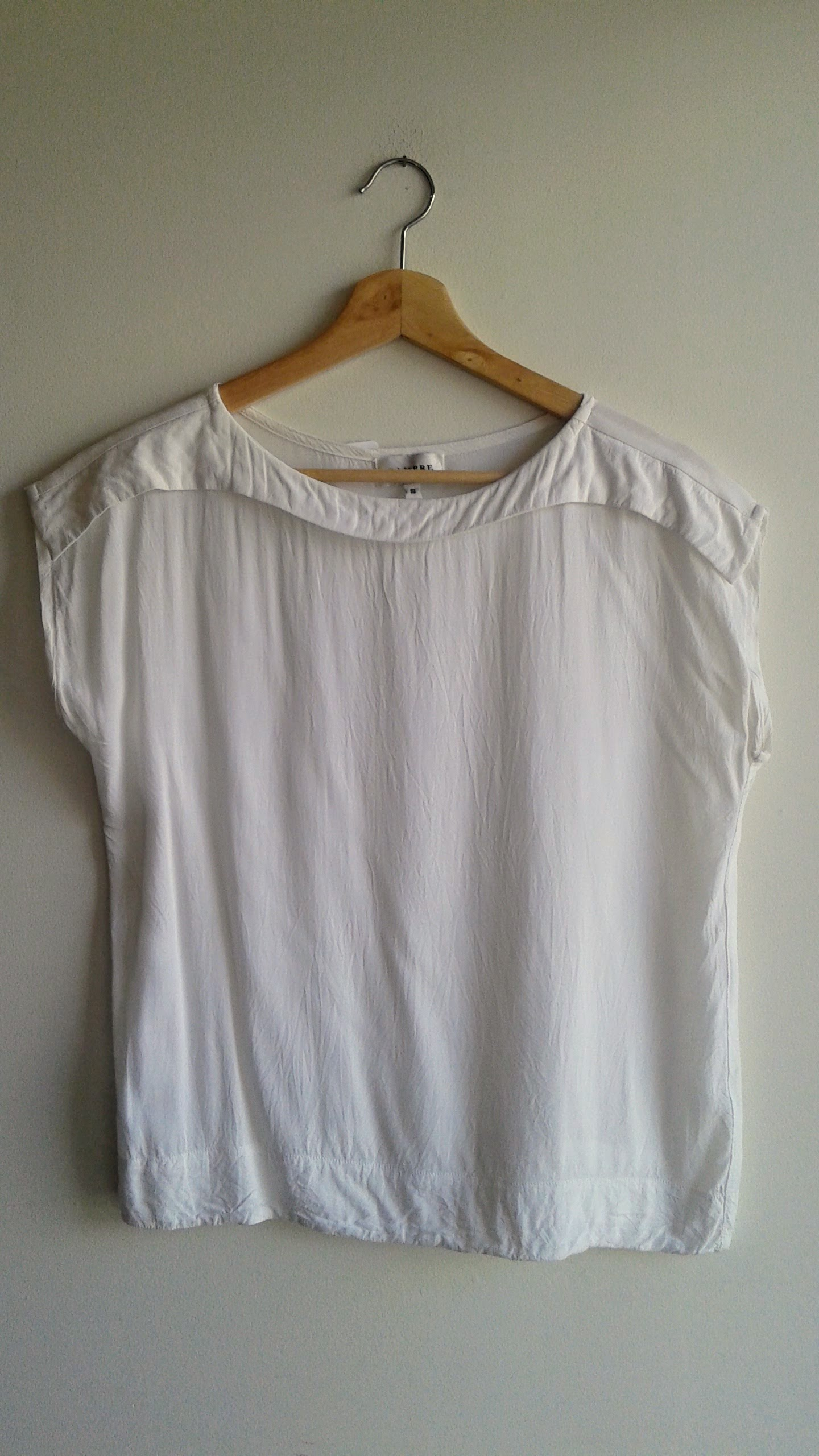 Campre top; Size S, $28
