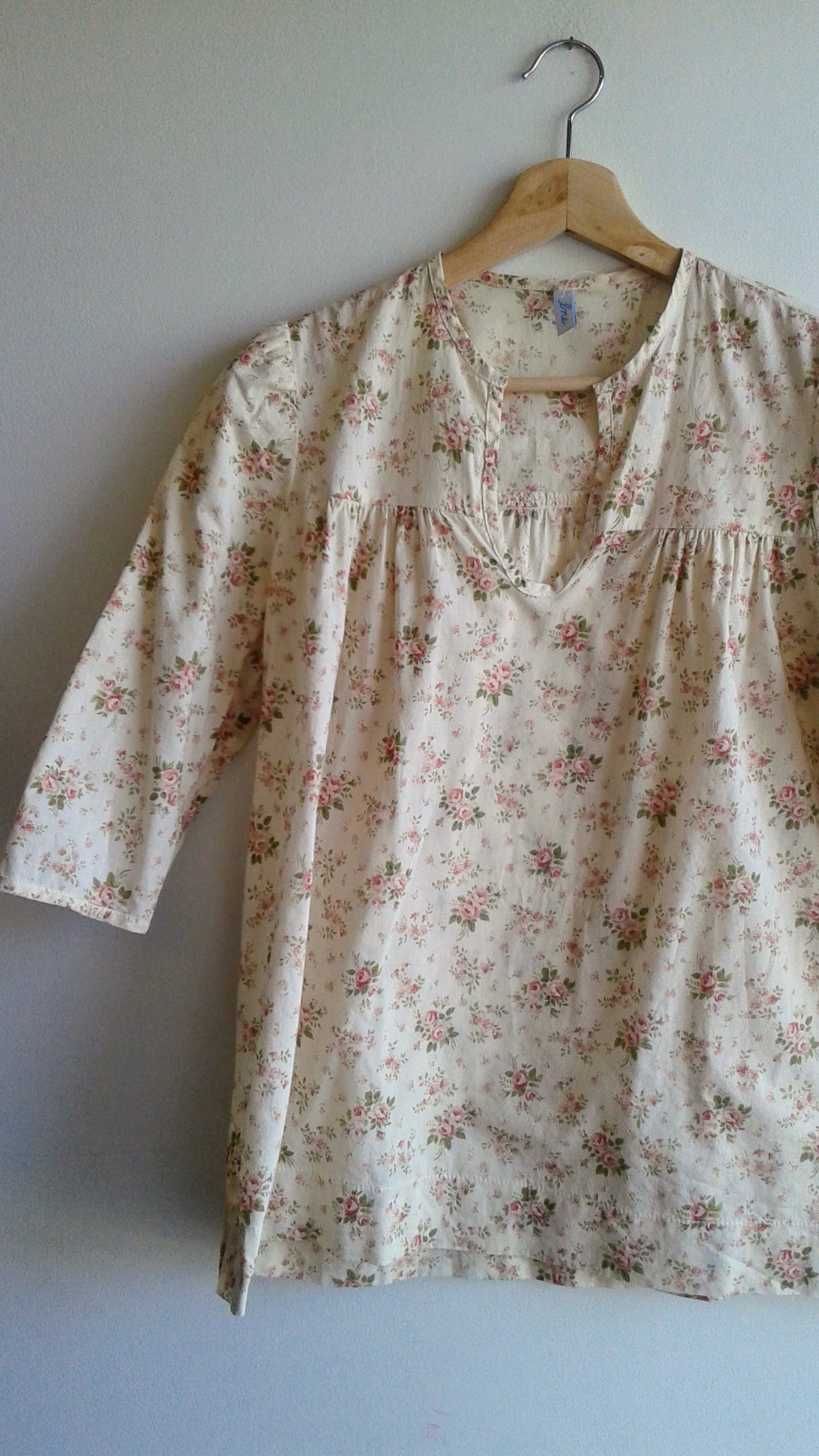 Flower top; Size S, $16