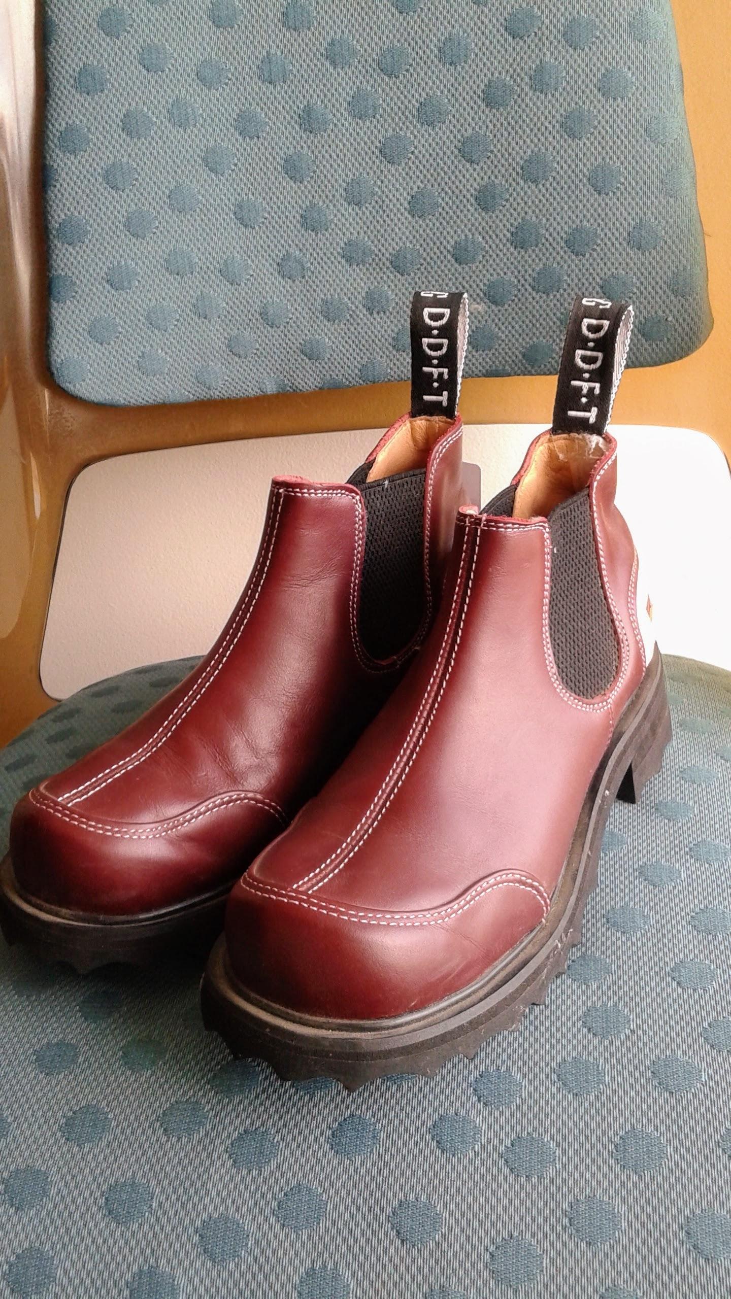 Fluevog shoes; S7.5, $62