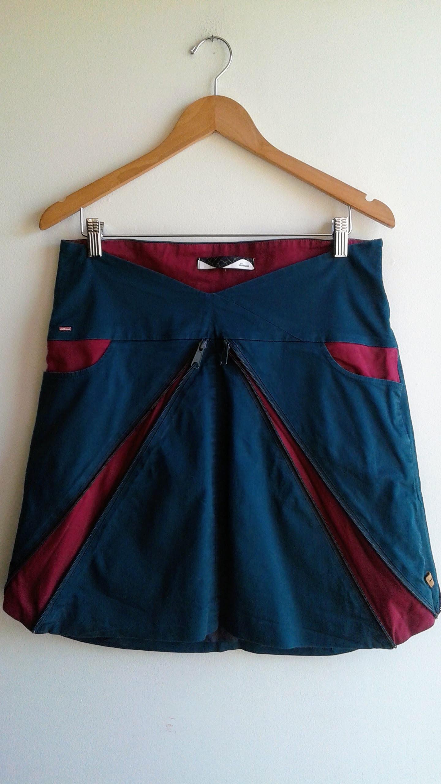 Skunkpunk skirt; Size M, $28