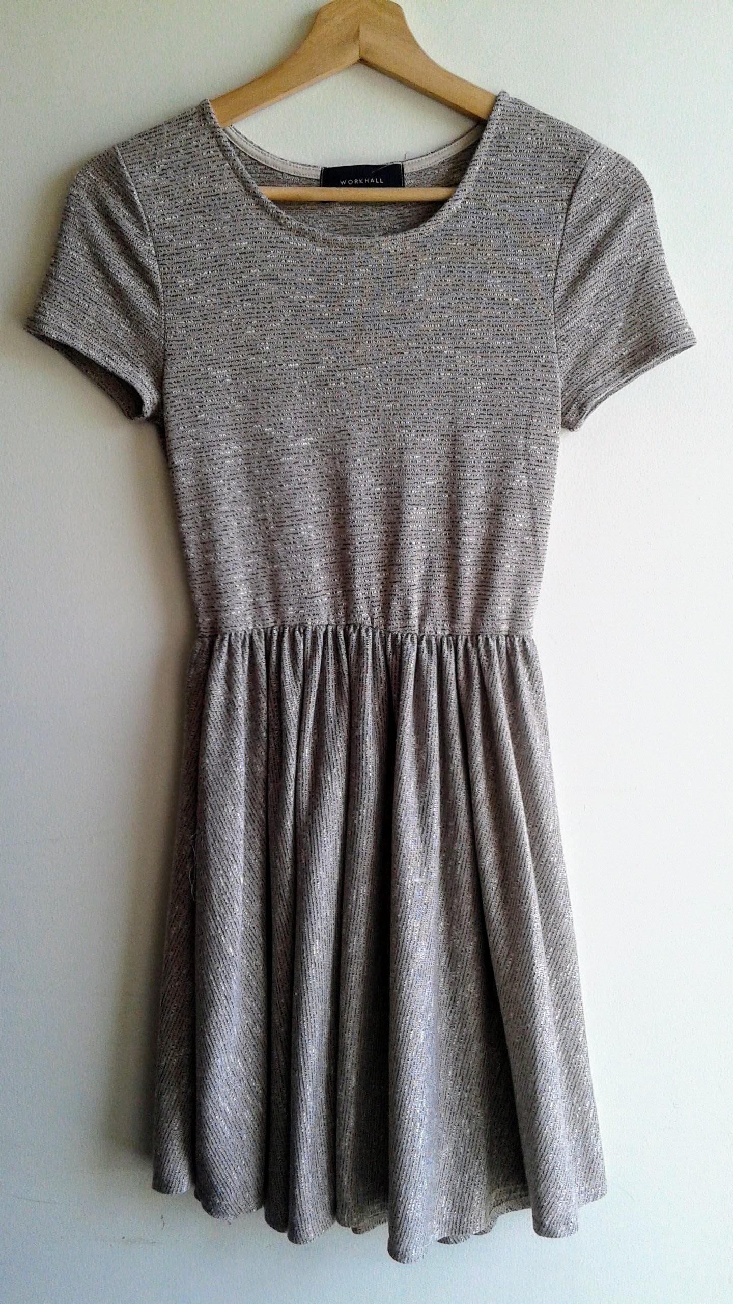 Workhall dress; Size S, $30