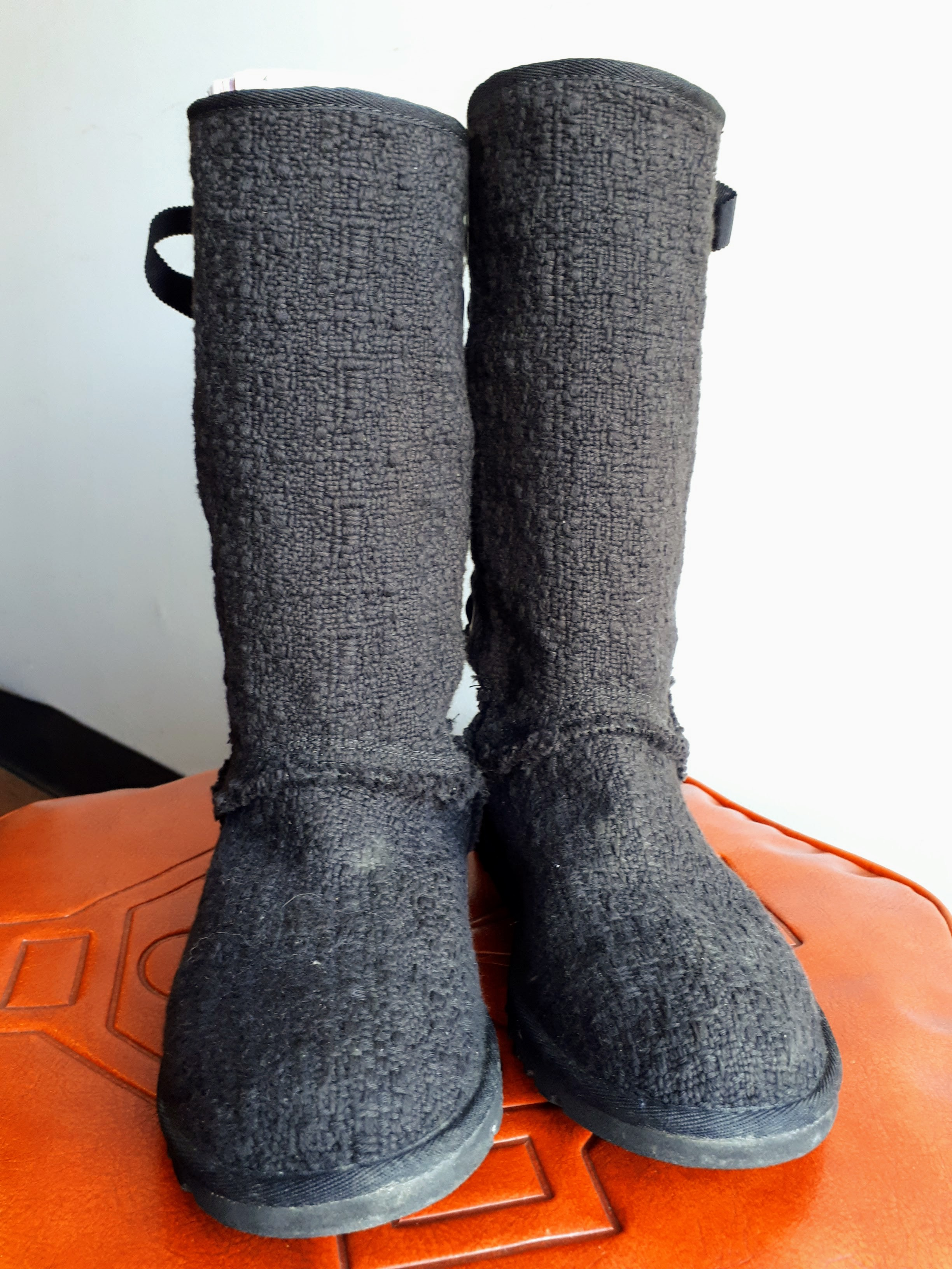 Ugg boots; S6.5, $46