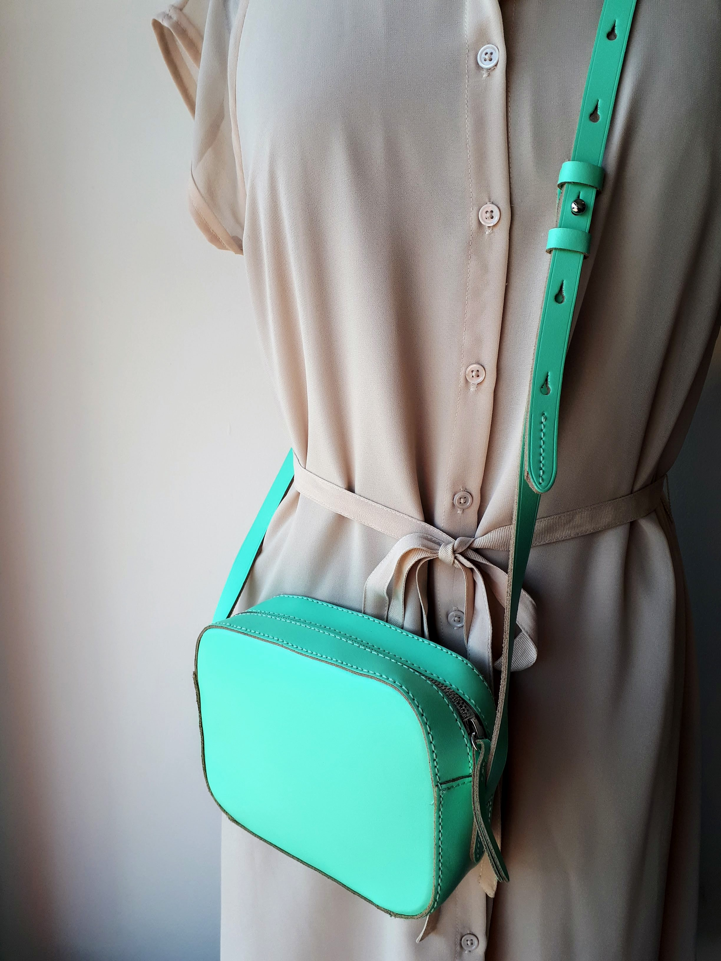 J Crew purse, $46 (Jeanne Beker dress; Size 8, $42)
