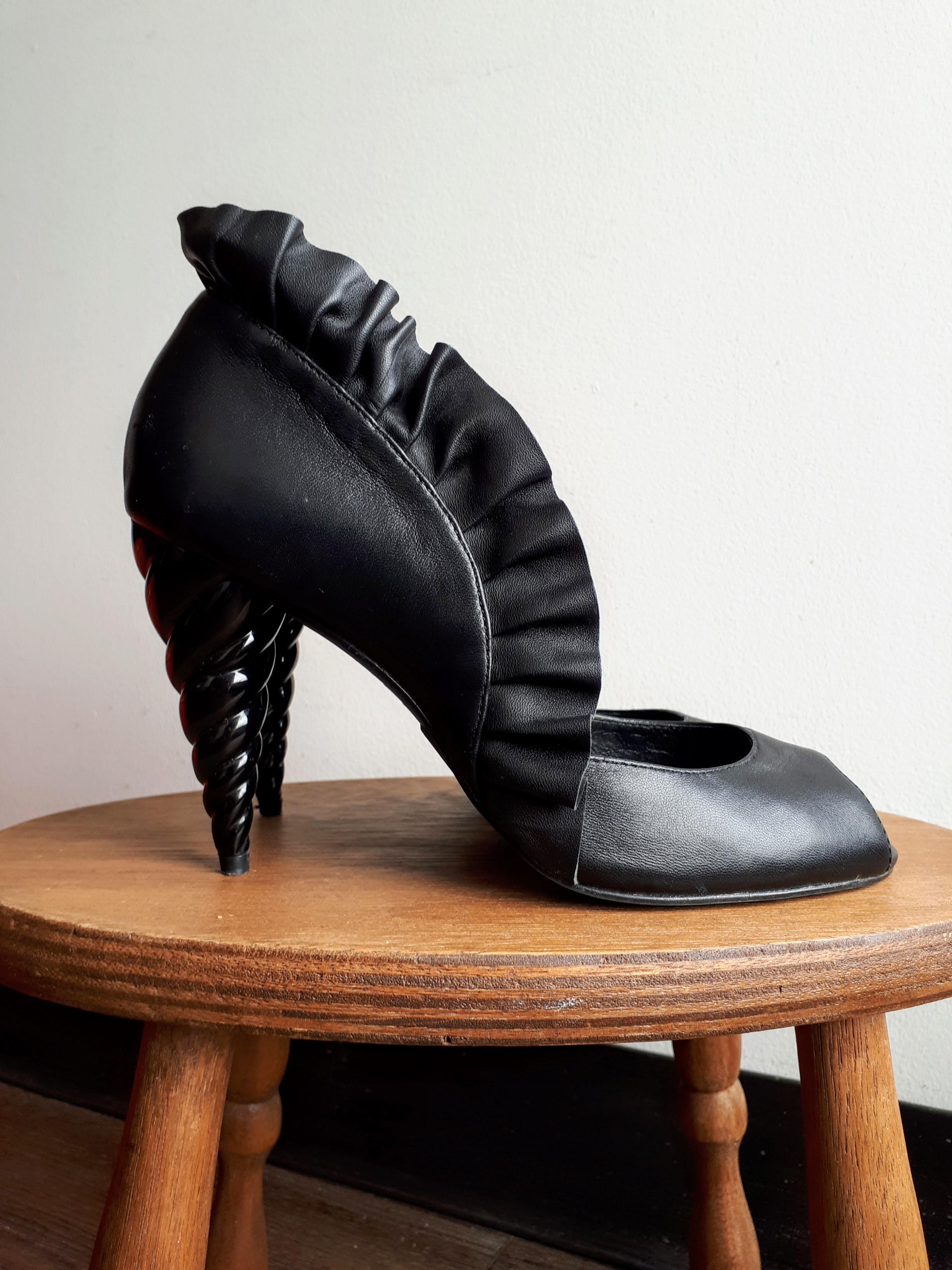 Jeffery Campbell shoes; S8, $62