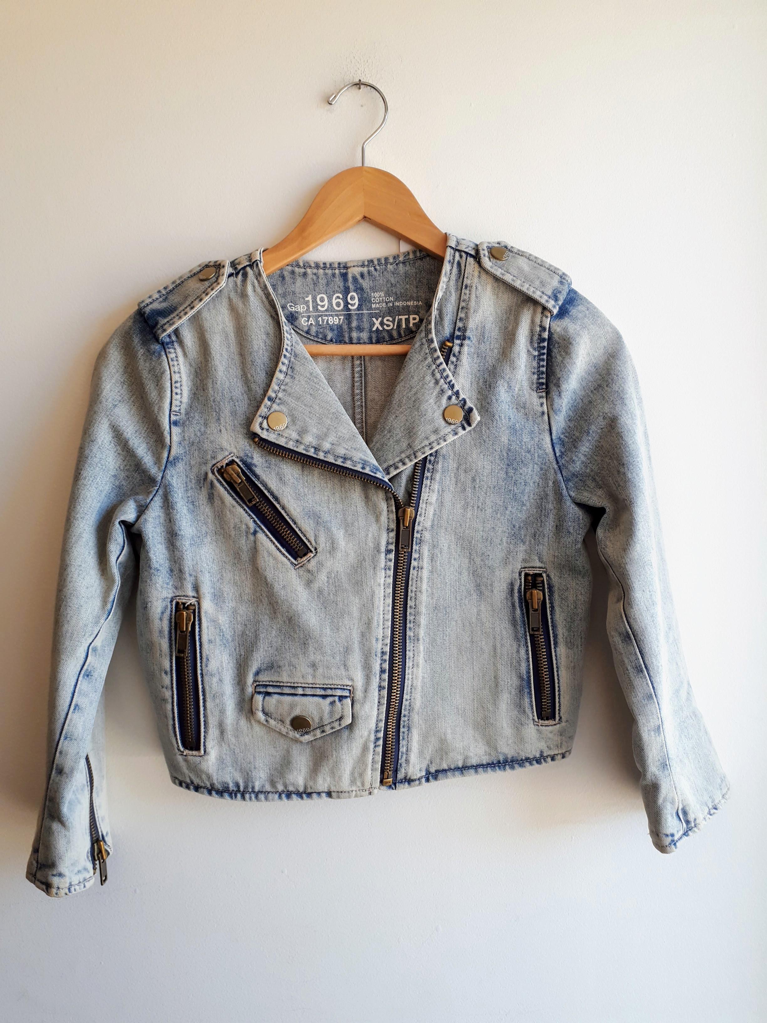 Gap jacket; Size XS, $42