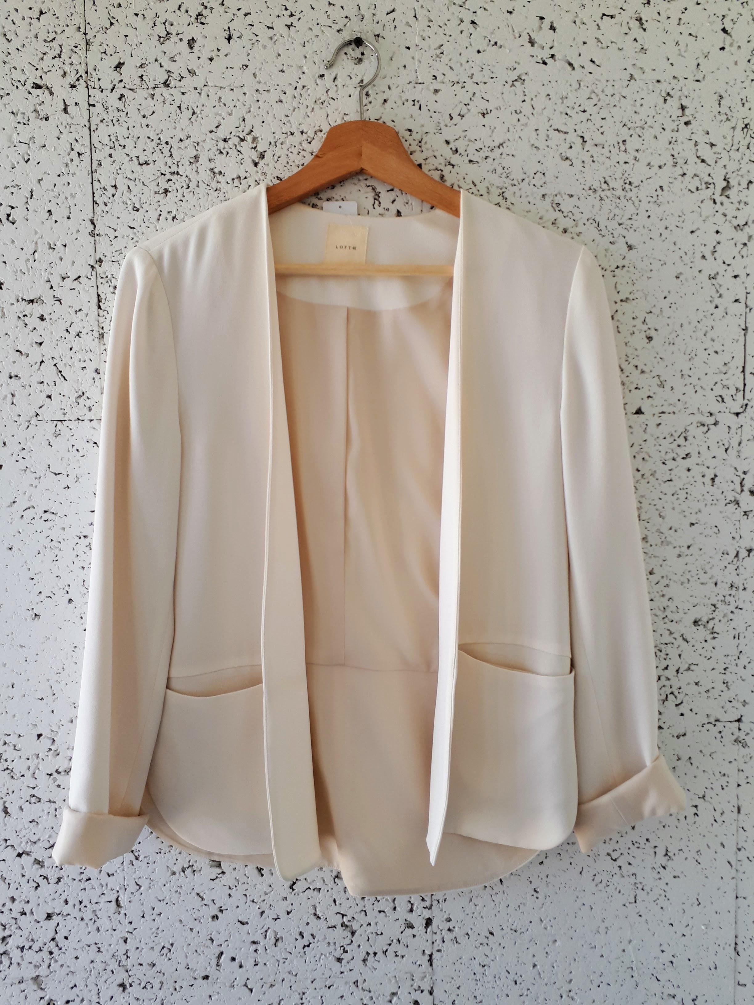 Loft 82 blazer; Size S, $52