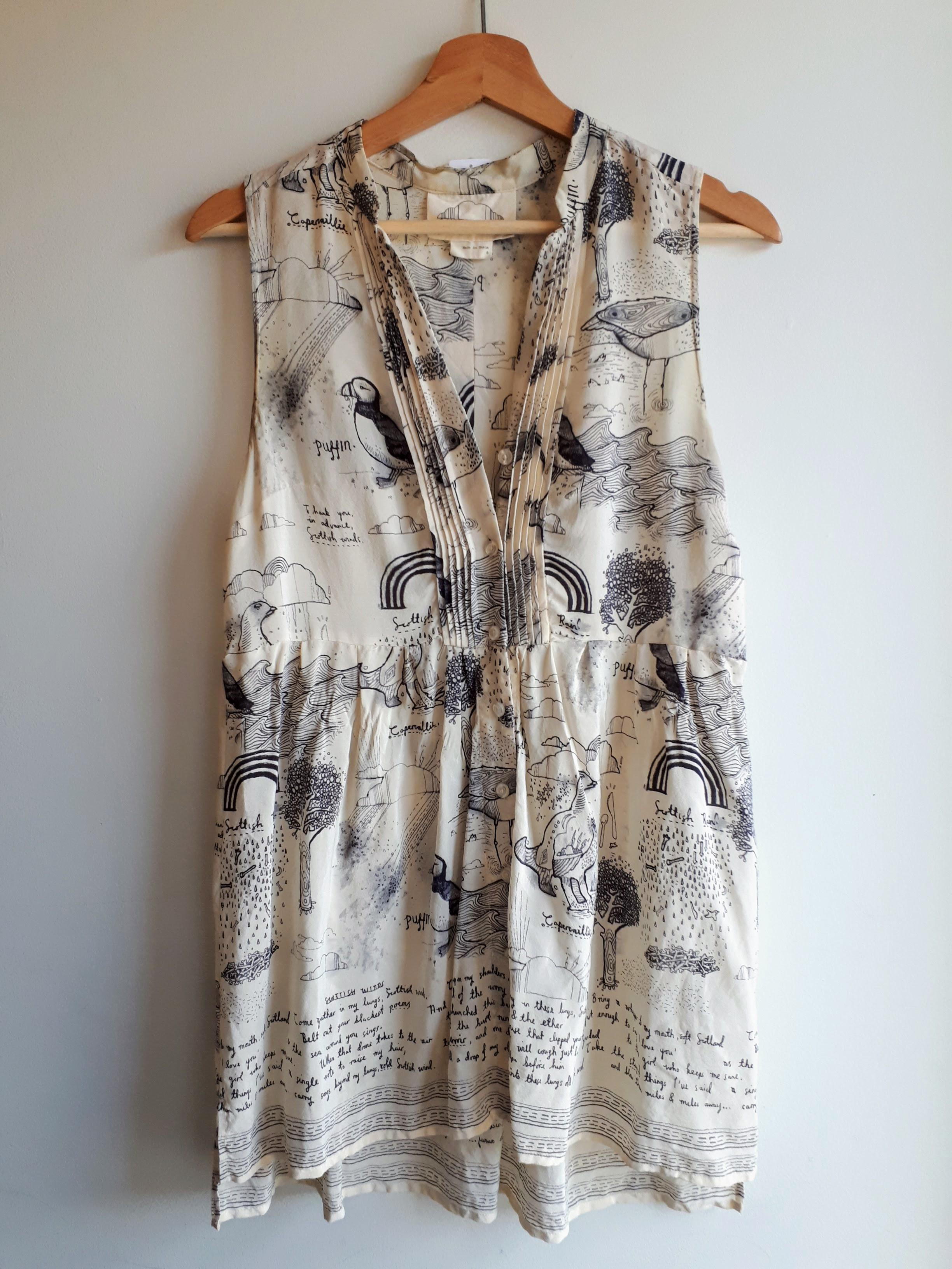 Puffin dress; Size 6, $32