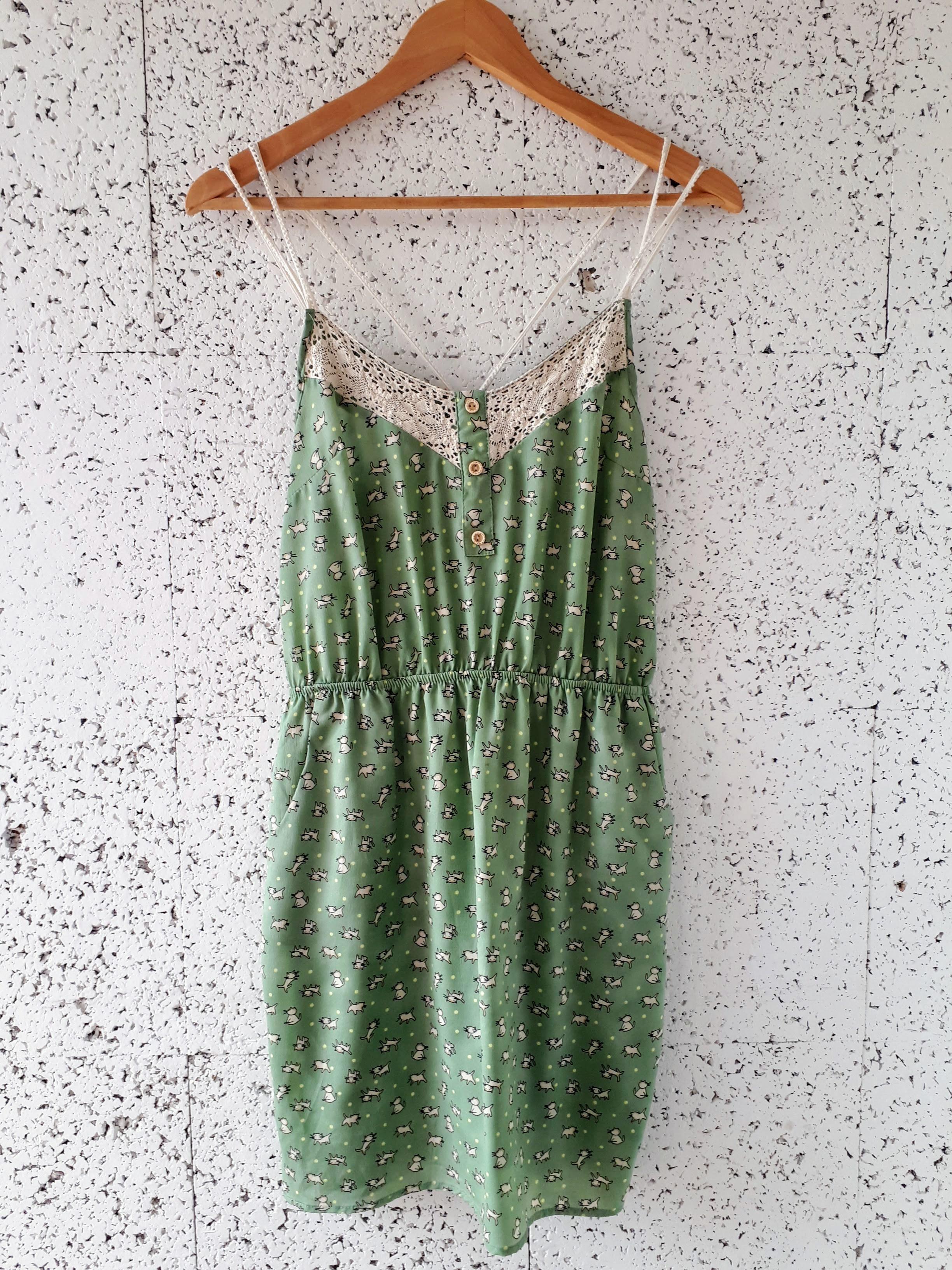 Peppermint dress; Size M, $26