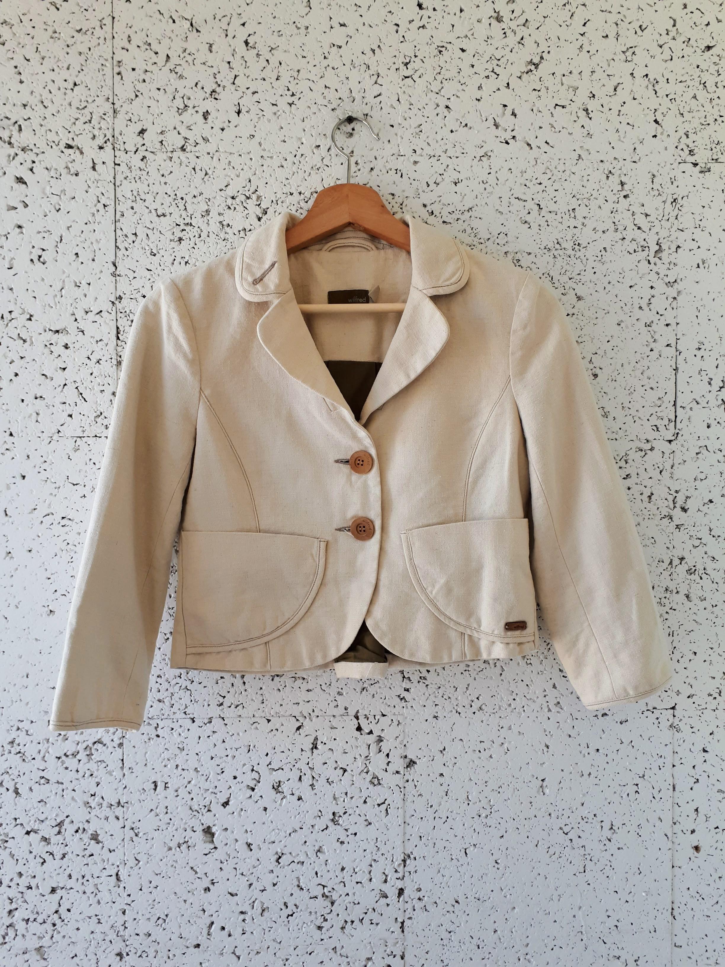 Wilfred jacket; Size XS, $38