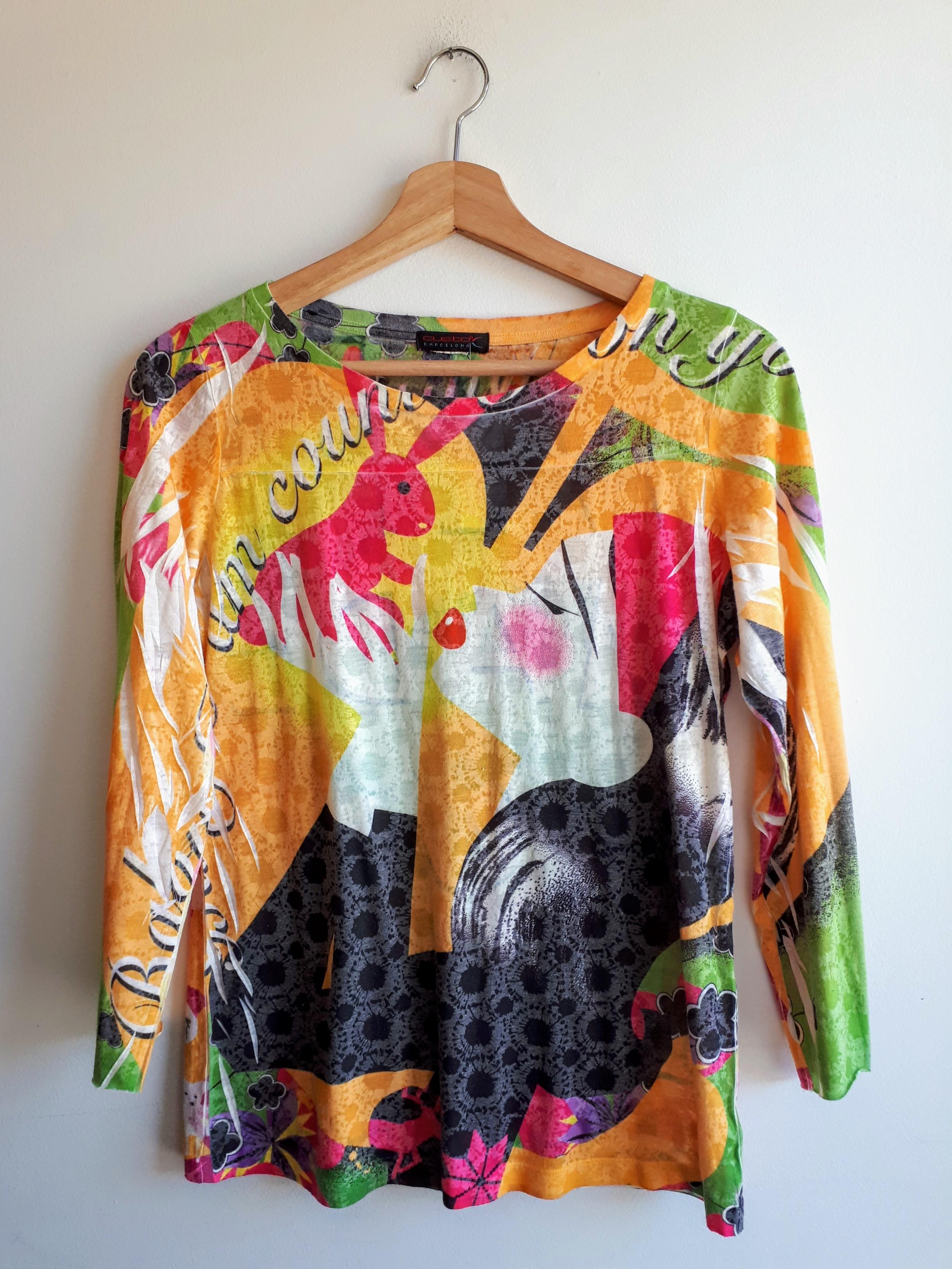 Custo Barcelona top; Size S, $26