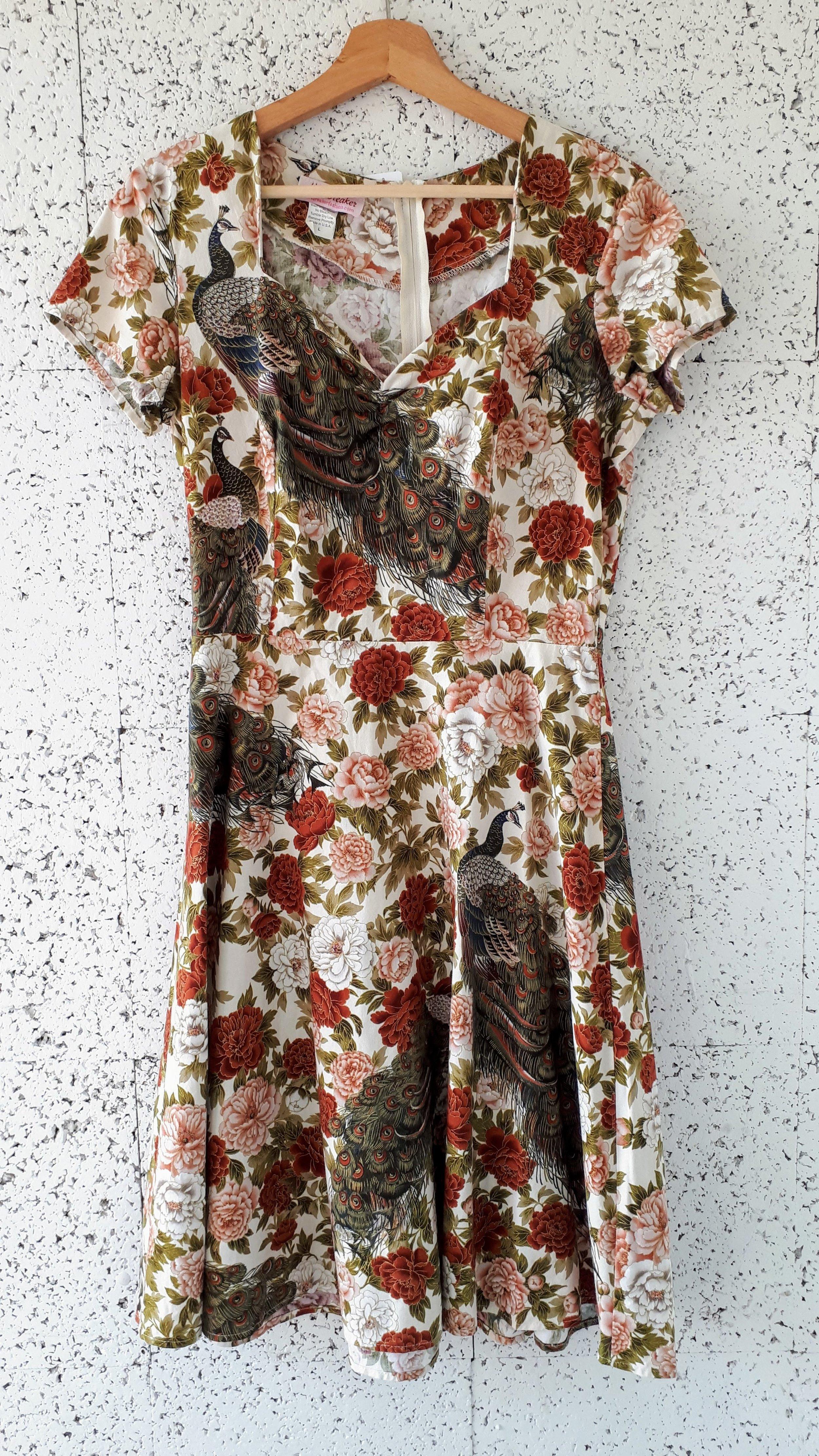Heartbreaker dress; Size L, $45
