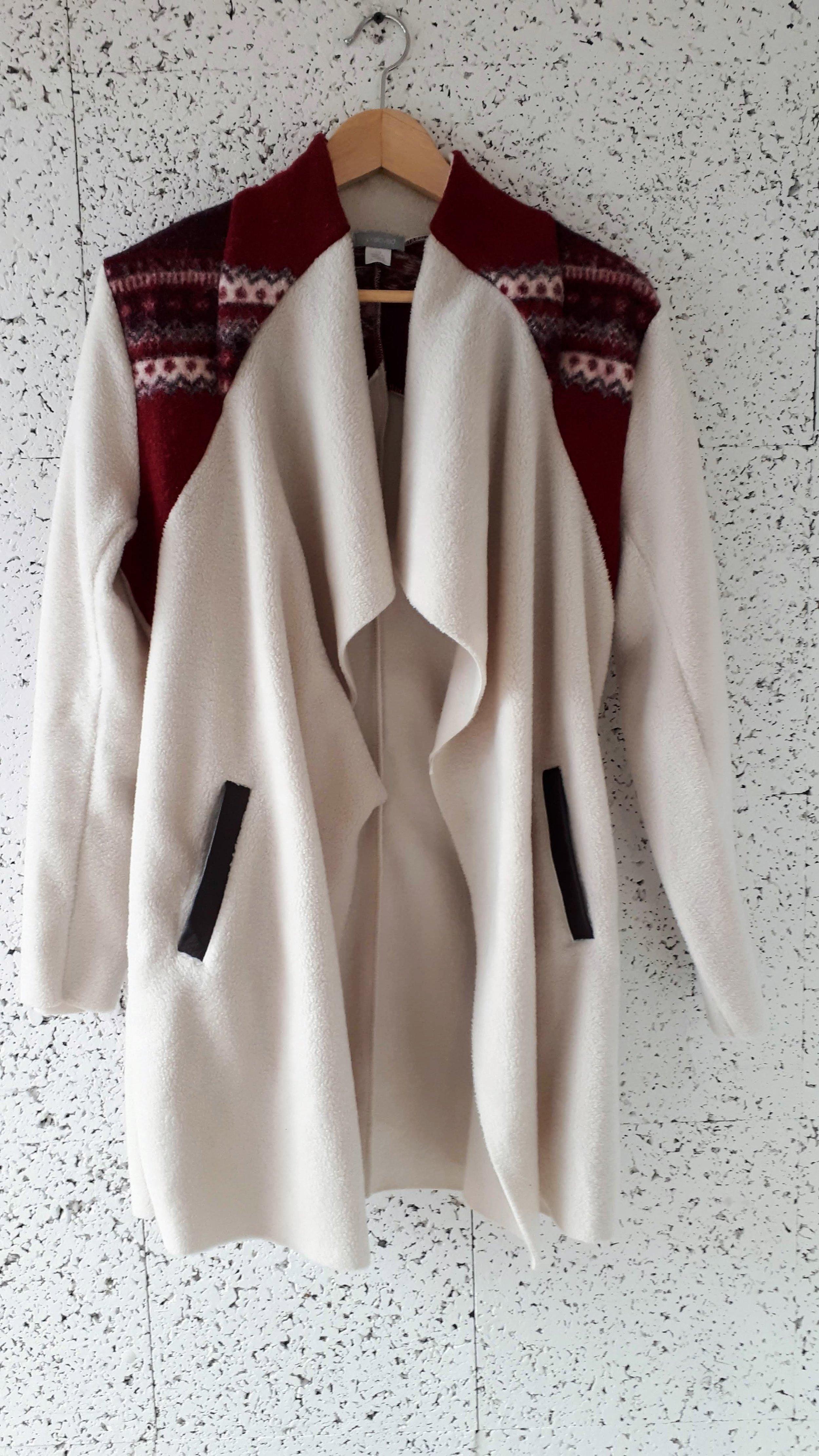 Preloved coat; Size S, $48