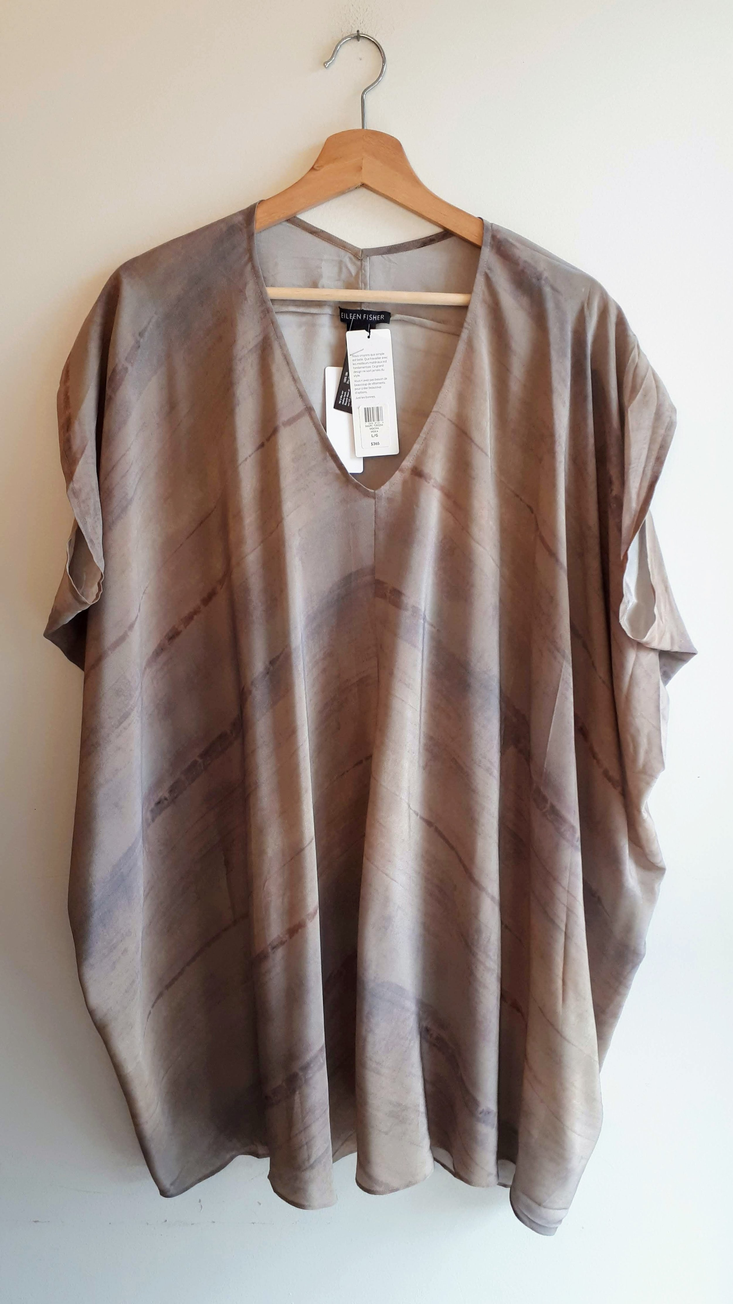 Eileen Fisher (NWT); Size L, $125