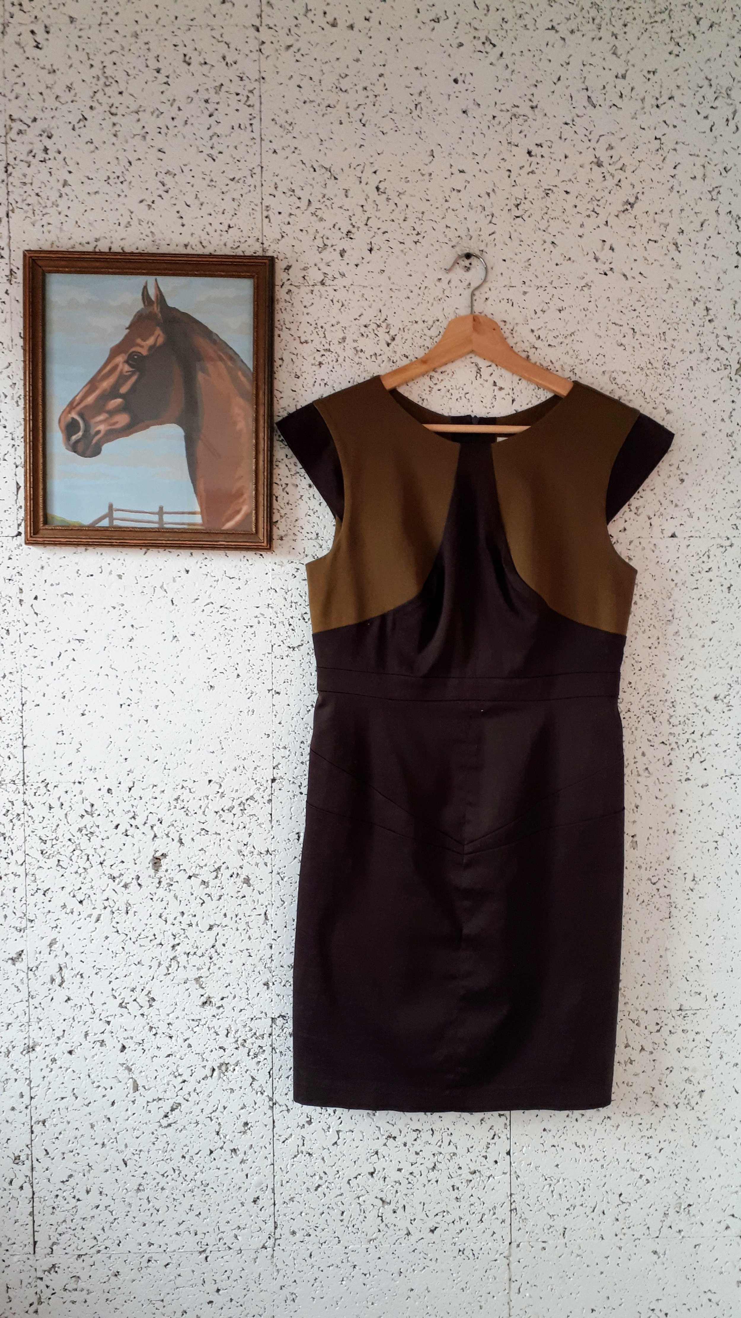 Eve Gravel  dress; Size M, $56