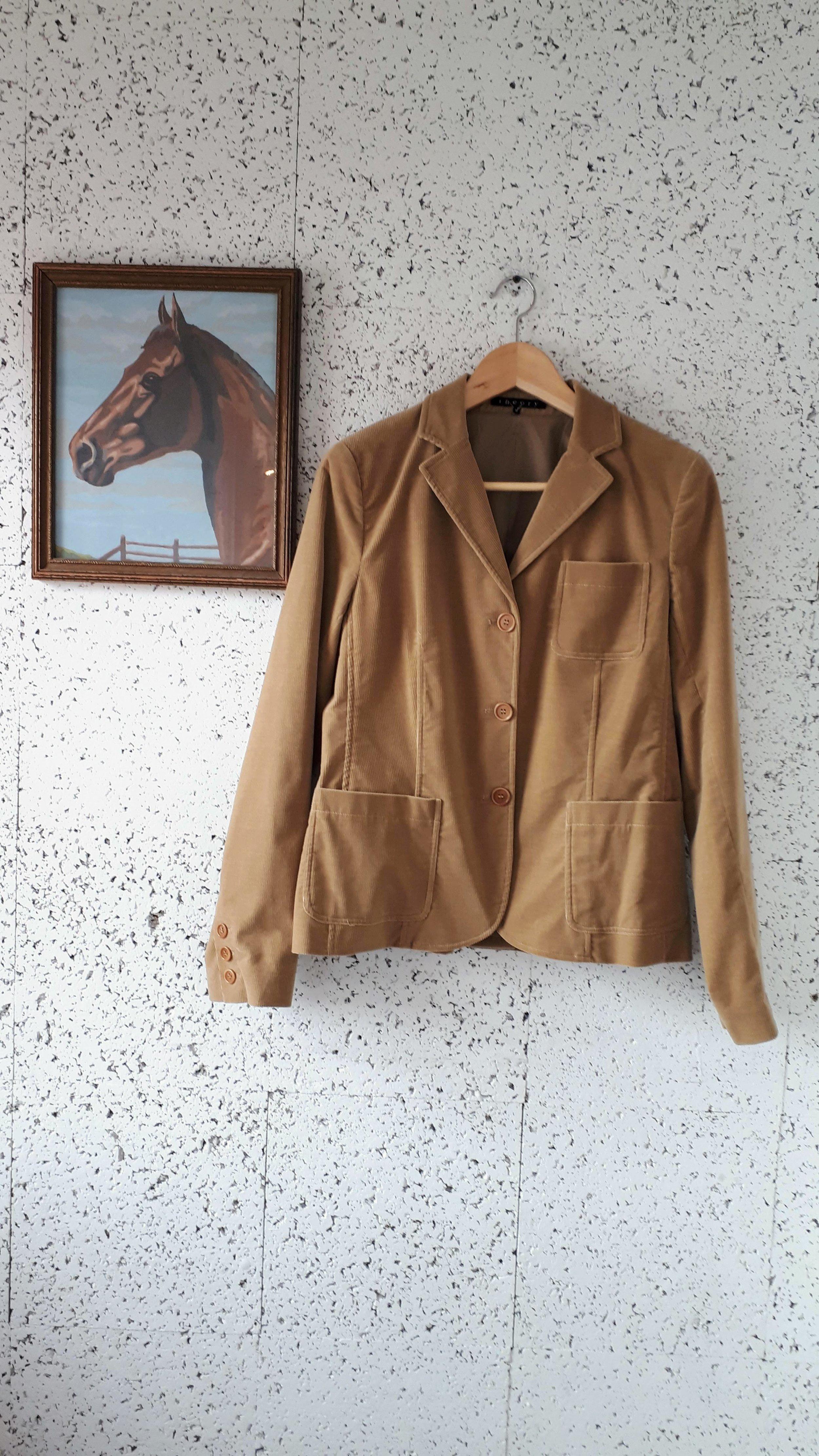 Theory jacket; Size M, $62