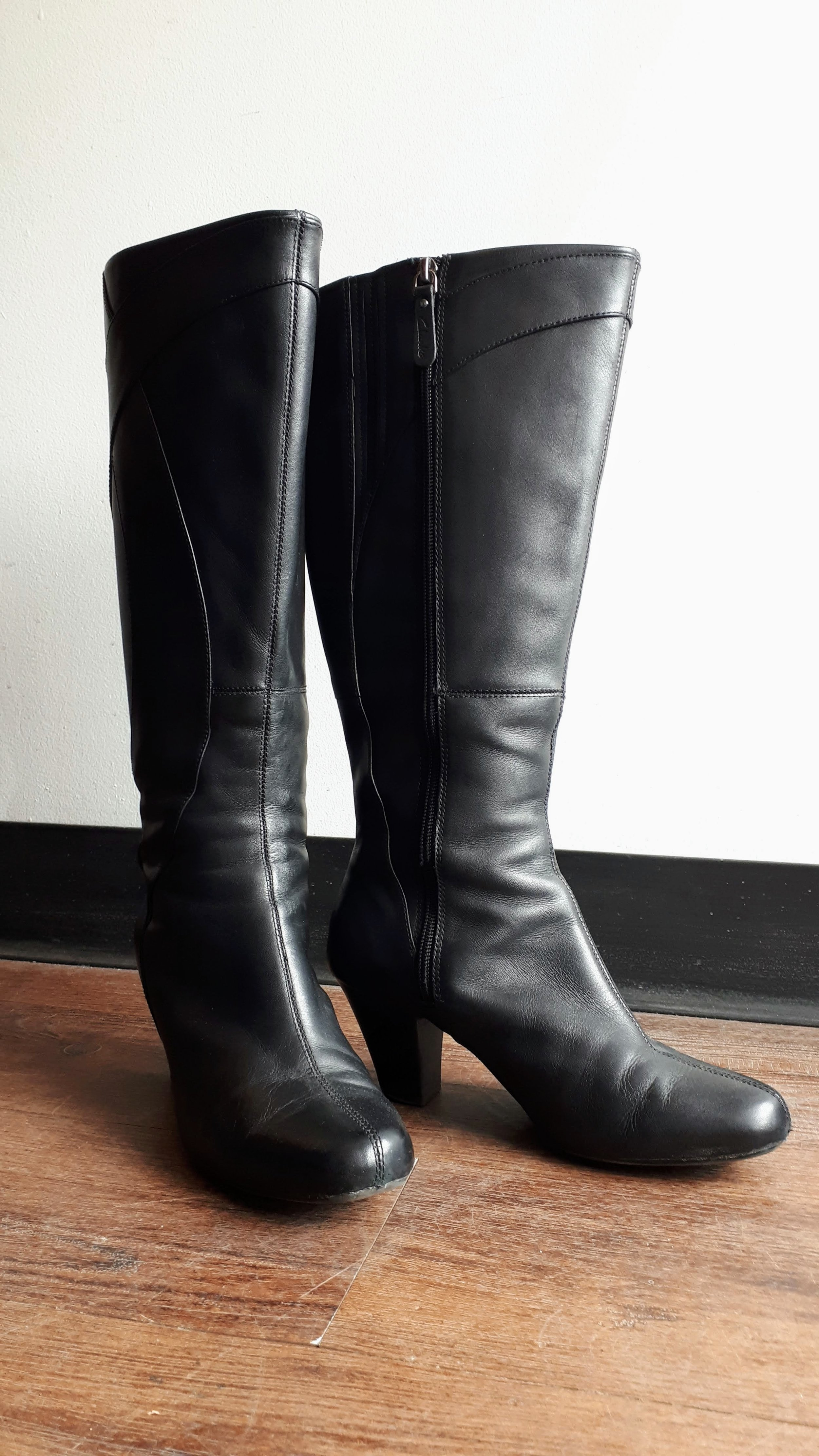 Clarks boots; S8, $65