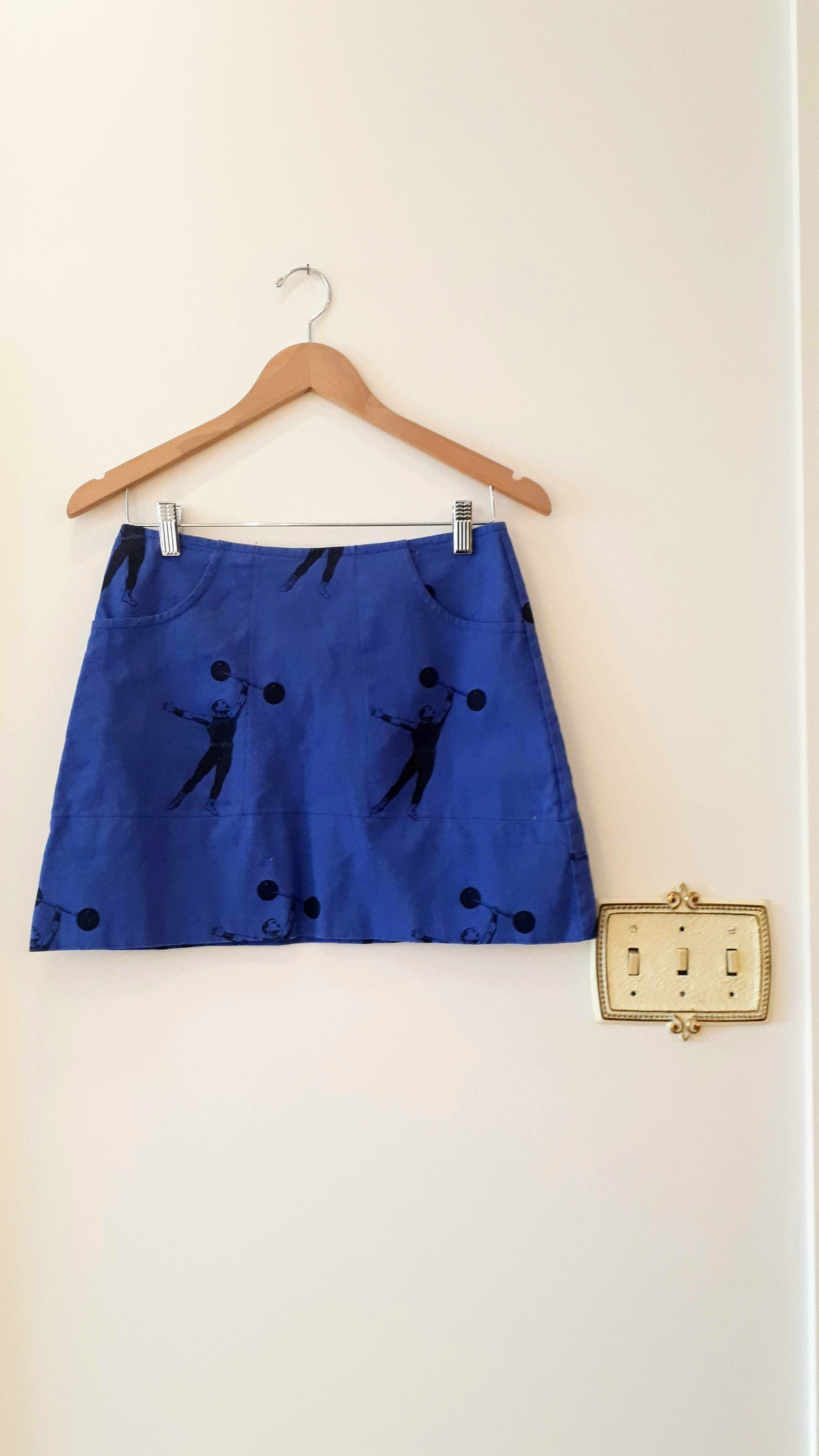 Smoking Lily skirt; Size S, $38