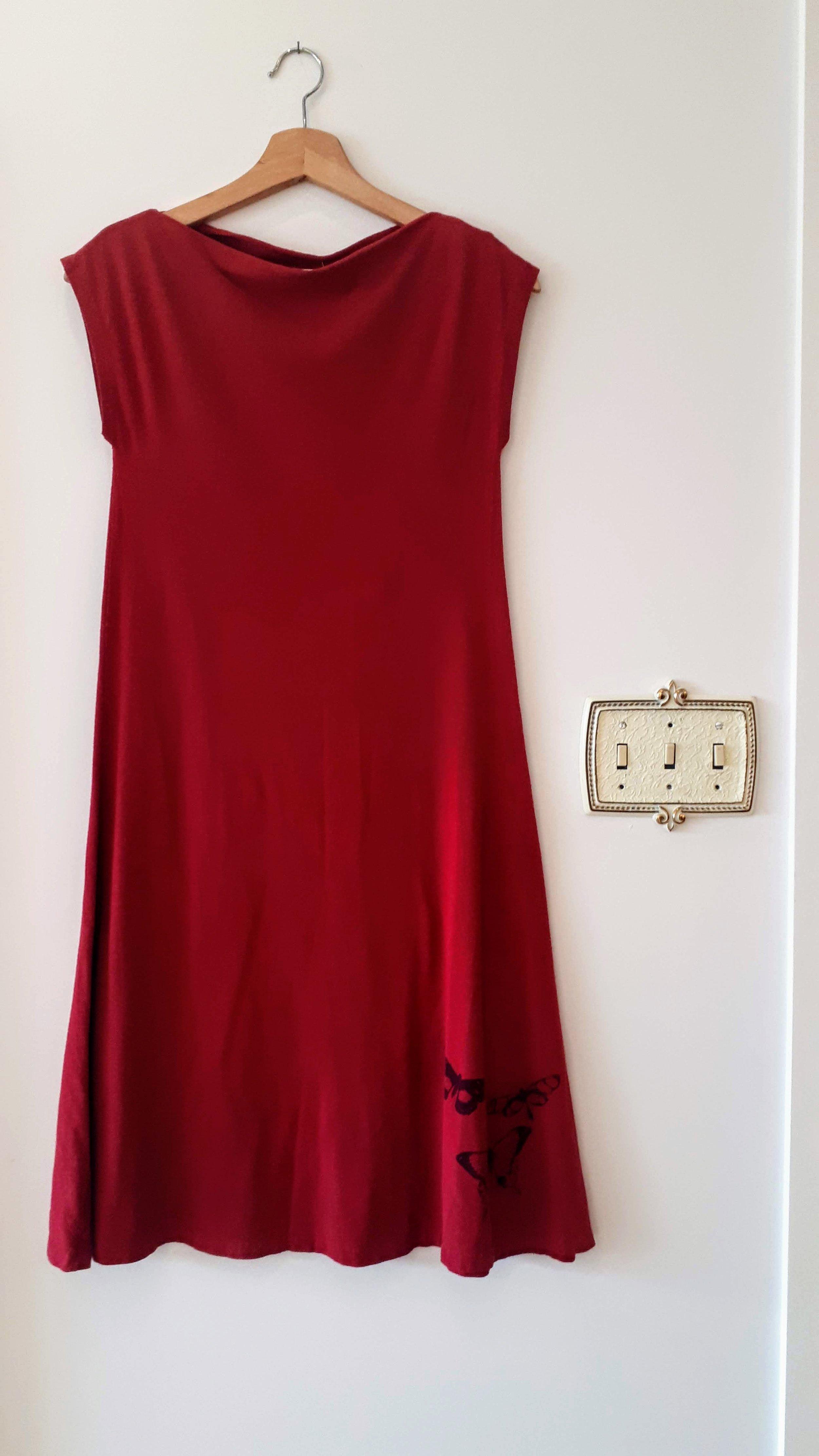 Smoking Lily dress; Size M, $52